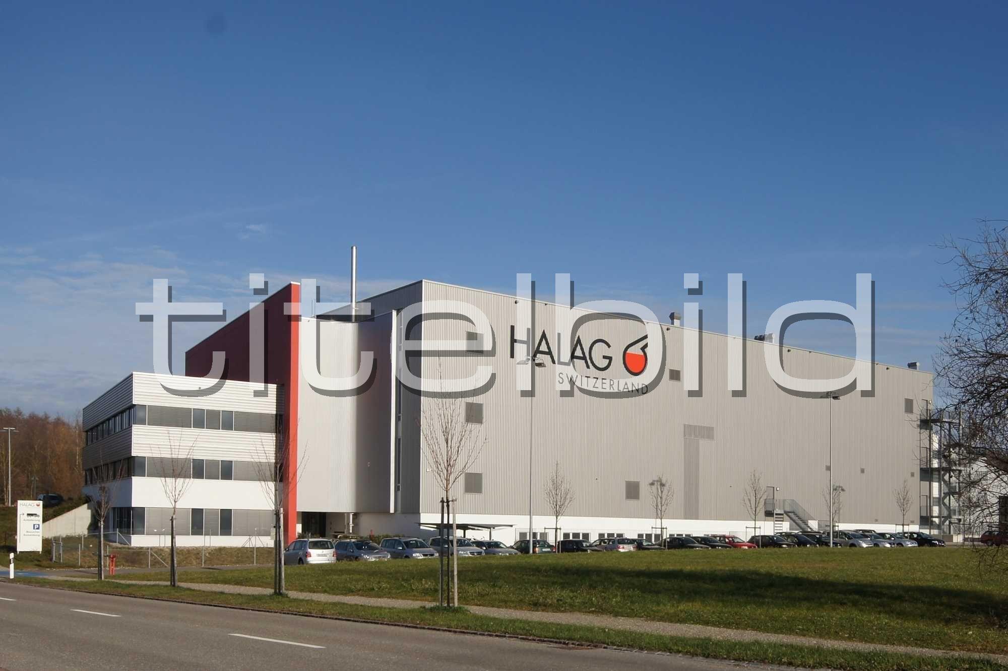 Projektbild-Nr. 0: Betriebsneubau Halag Chemie AG