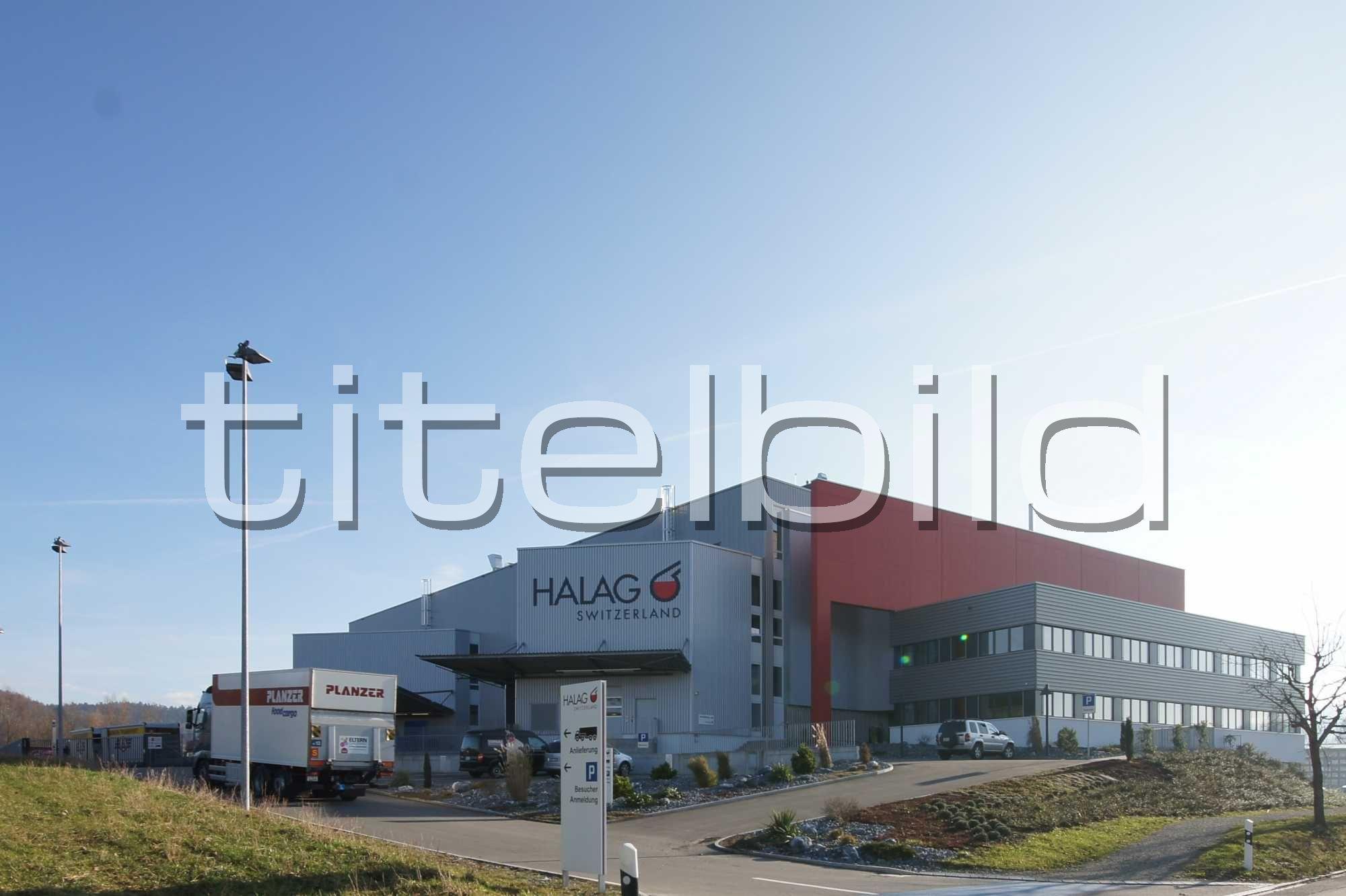 Projektbild-Nr. 2: Betriebsneubau Halag Chemie AG