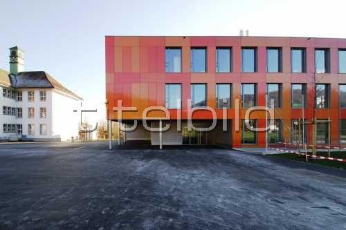 Bild-Nr: 3des Objektes Erweiterung Schulanlage Dorf