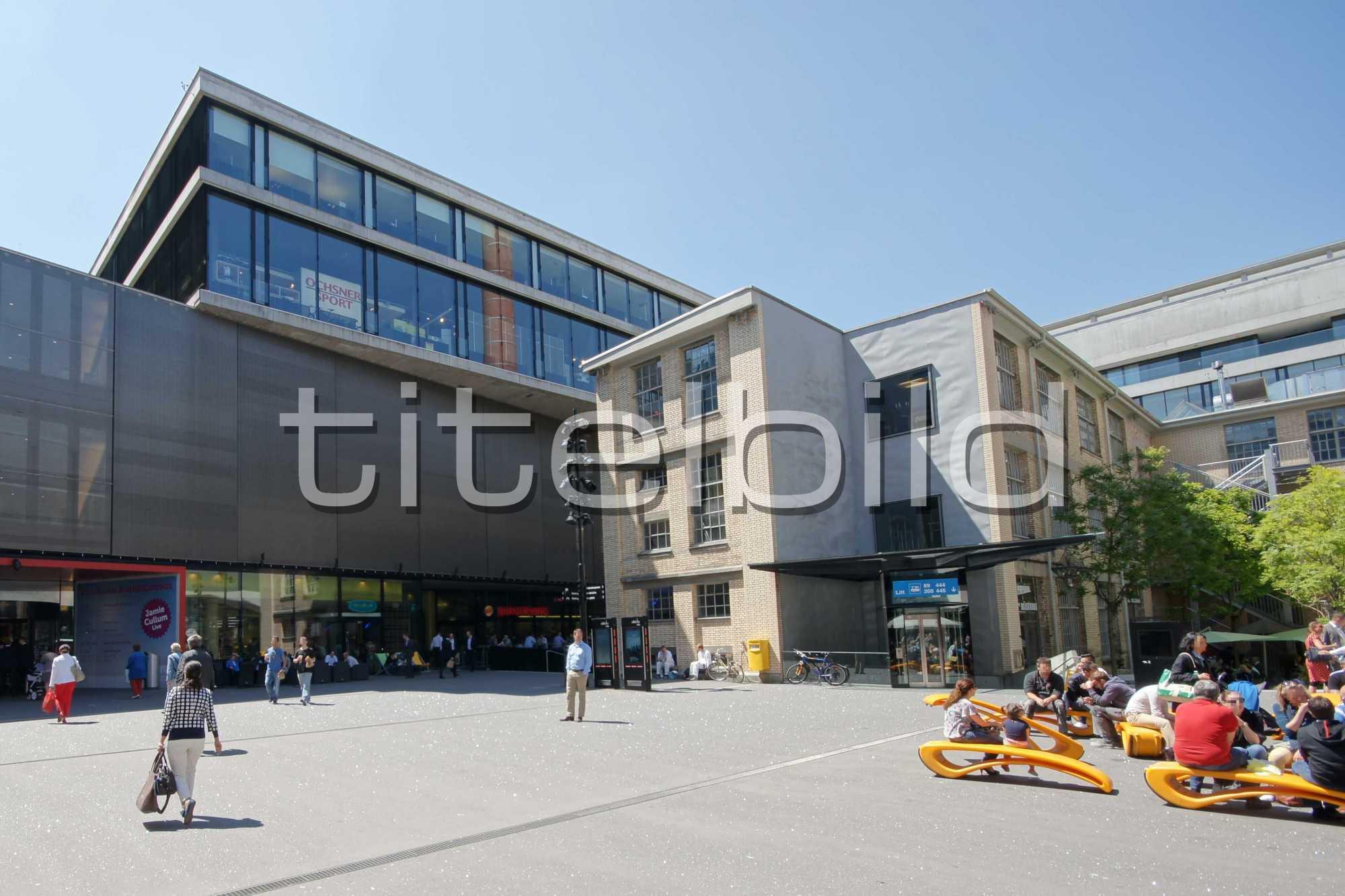 Projektbild-Nr. 2: Areal Sihlcity Zürich Süd