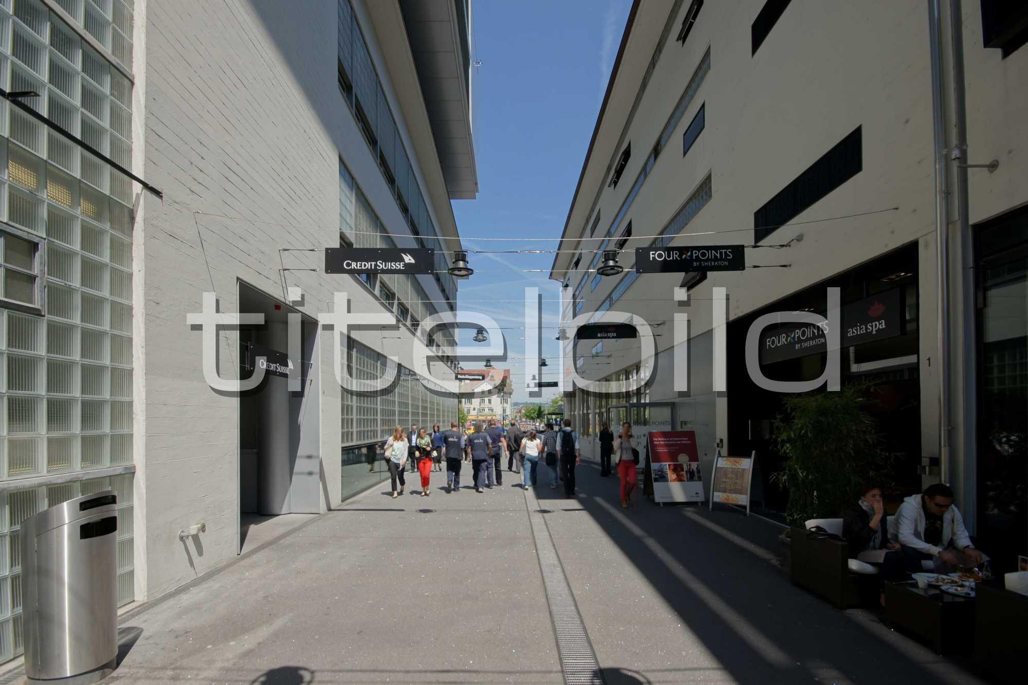 Projektbild-Nr. 3: Areal Sihlcity Zürich Süd