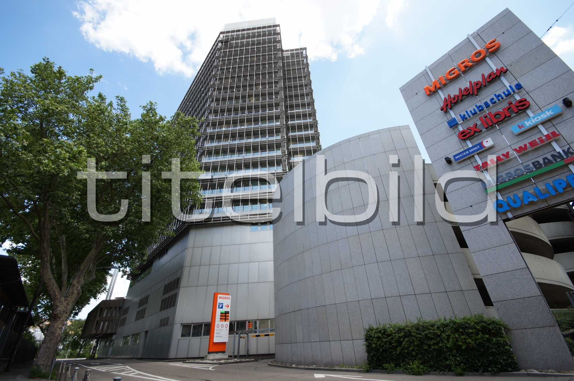 Projektbild-Nr. 0: Umbau/Sanierung Migros Hochhaus 4