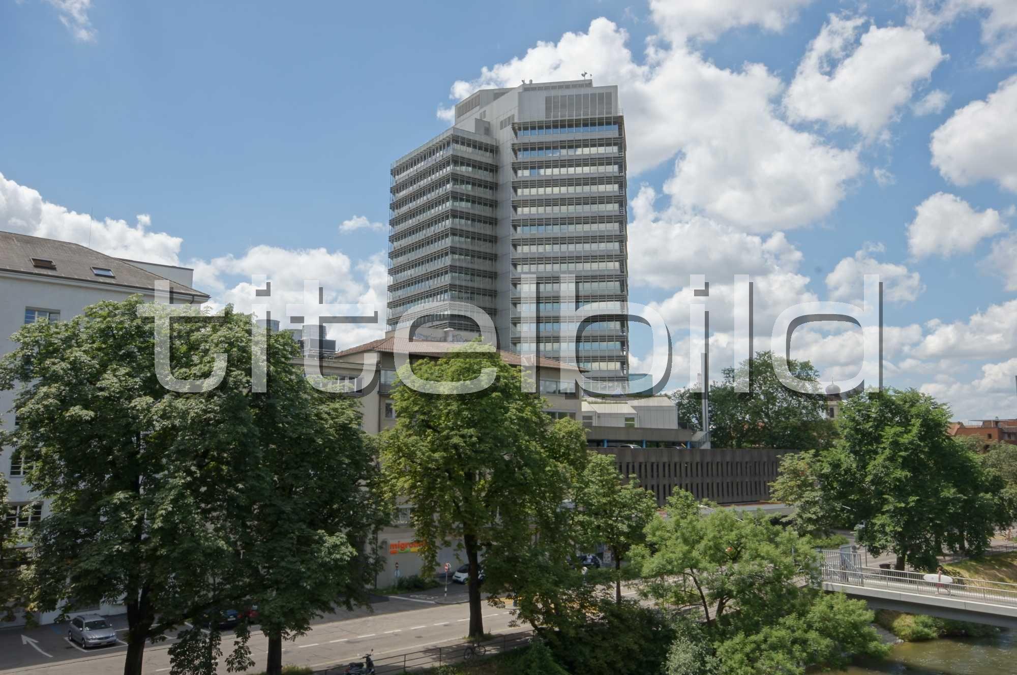 Projektbild-Nr. 2: Umbau/Sanierung Migros Hochhaus 4