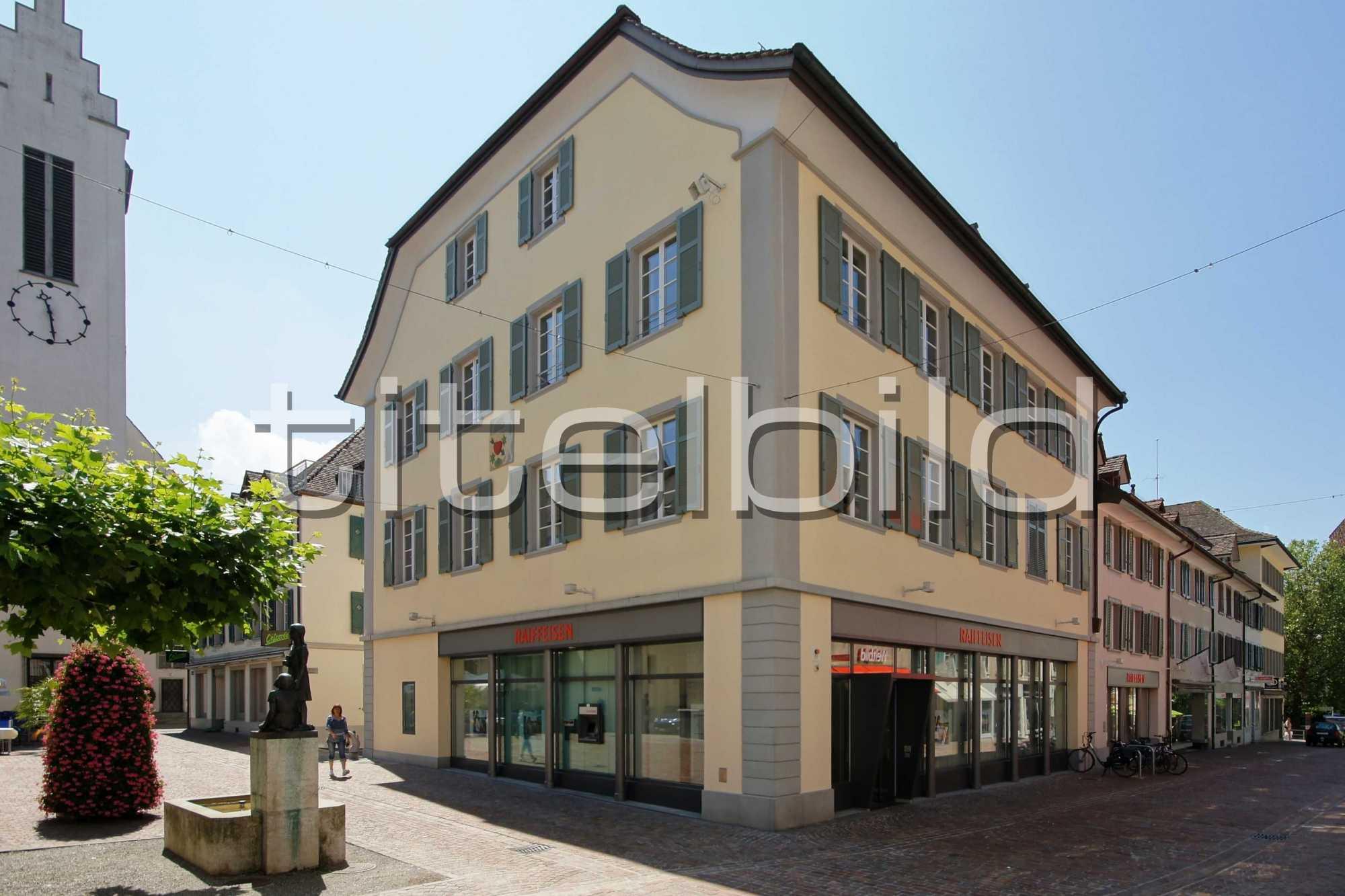 Projektbild-Nr. 0: Bankgebäude der Raiffeisenbank Frauenfeld