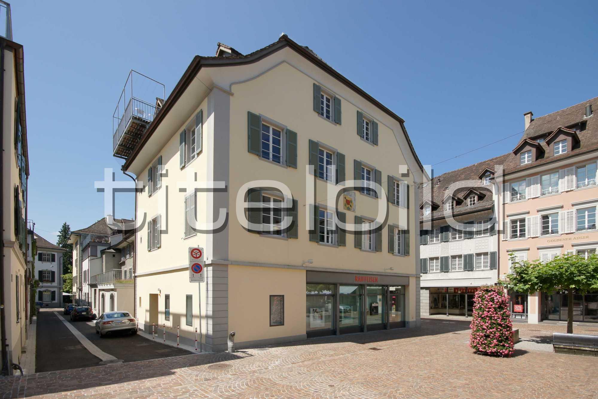 Projektbild-Nr. 1: Bankgebäude der Raiffeisenbank Frauenfeld