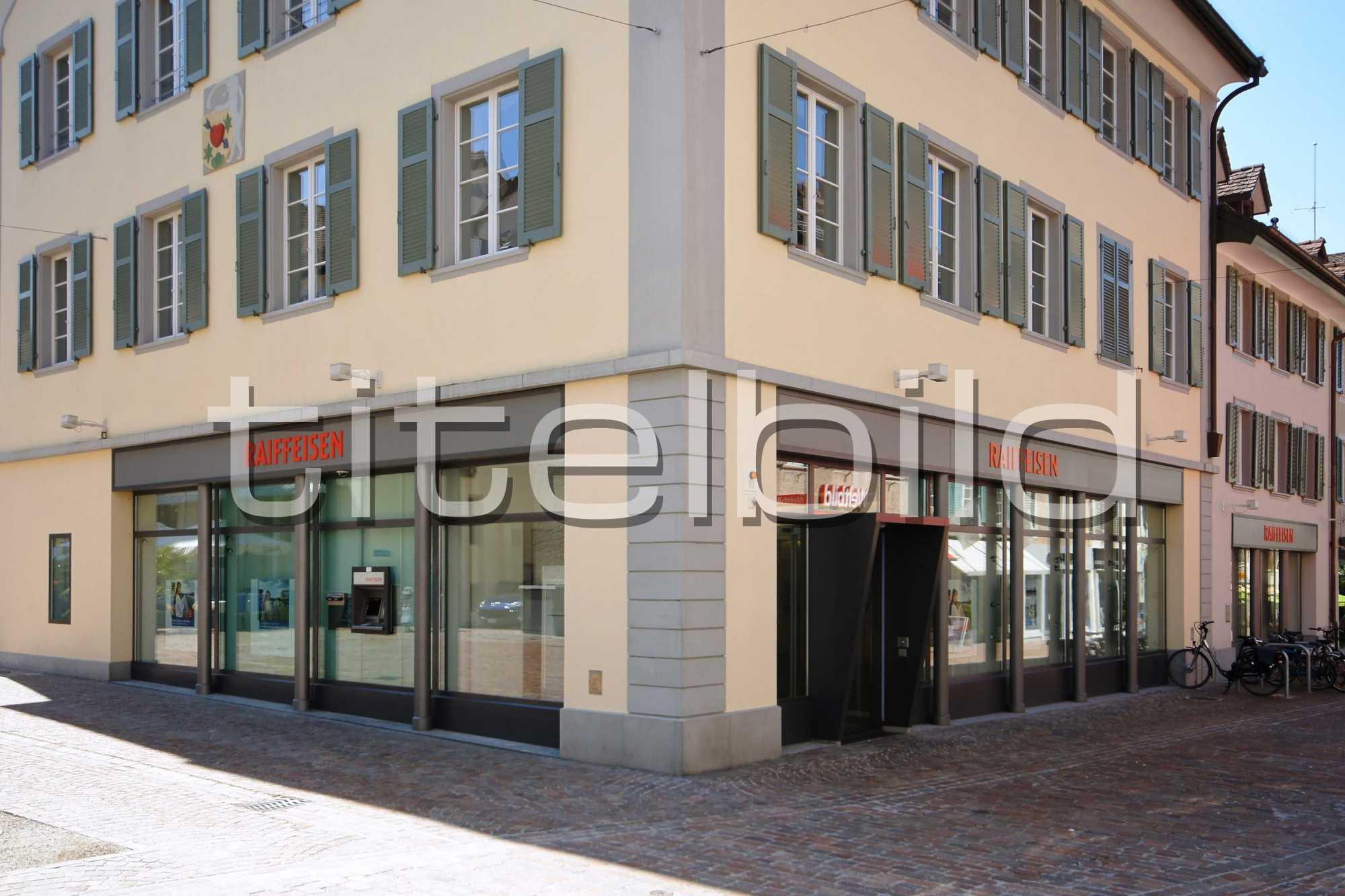 Projektbild-Nr. 2: Bankgebäude der Raiffeisenbank Frauenfeld