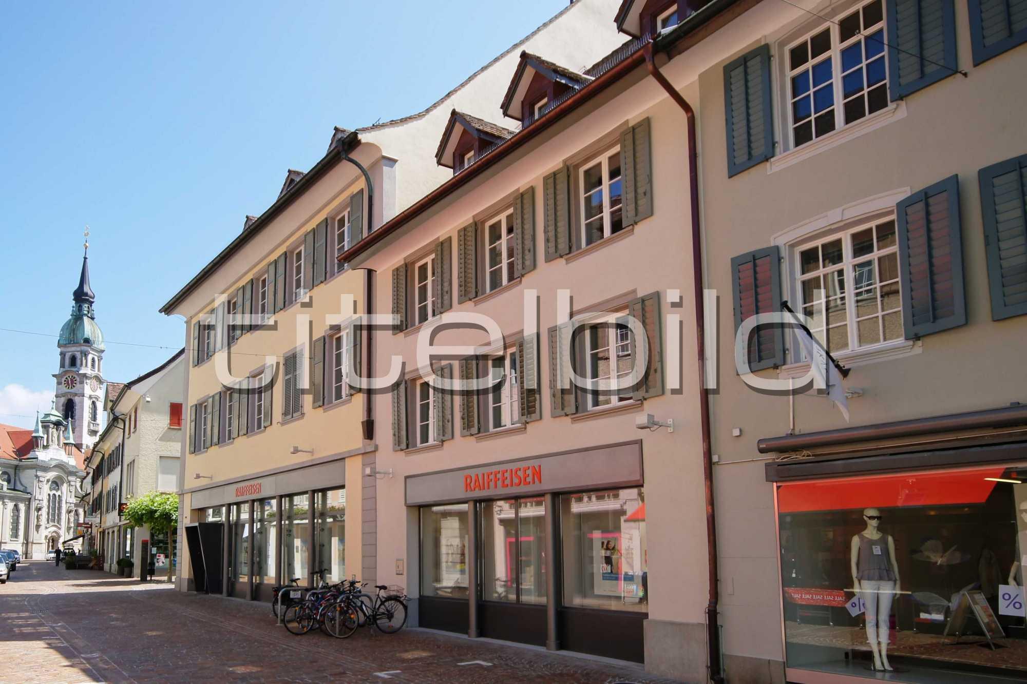 Projektbild-Nr. 4: Bankgebäude der Raiffeisenbank Frauenfeld
