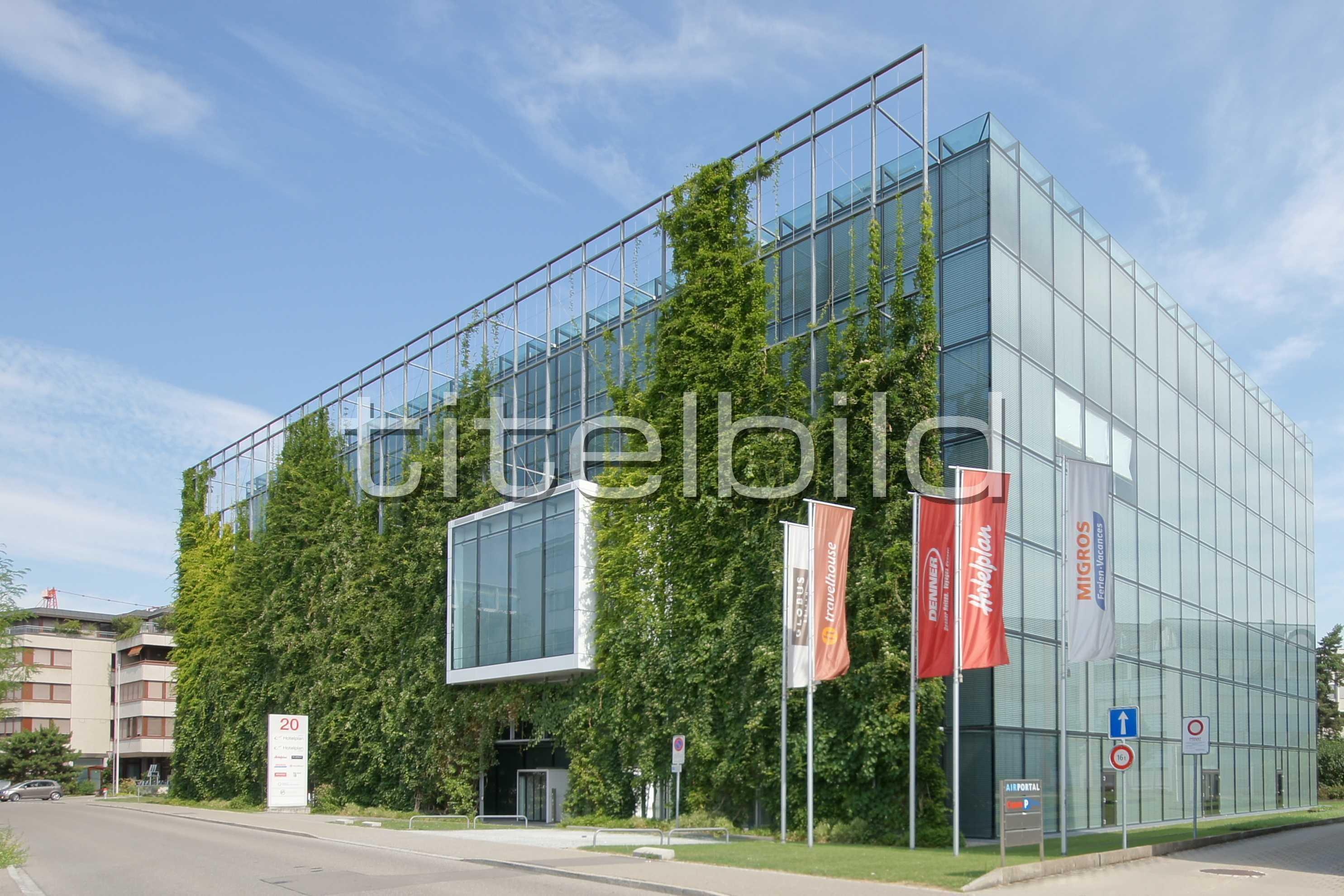Projektbild-Nr. 0: Bürogebäude Hotelplan Management AG