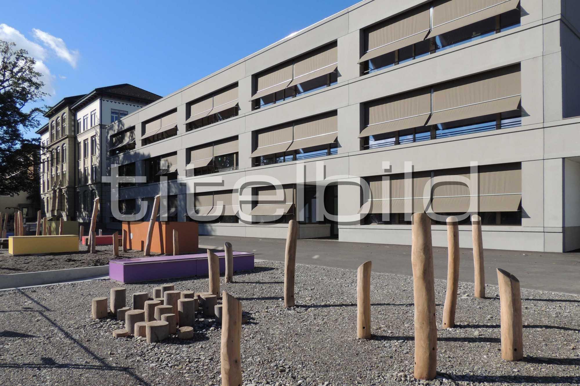 Projektbild-Nr. 2: Schulhaus Mühlematt