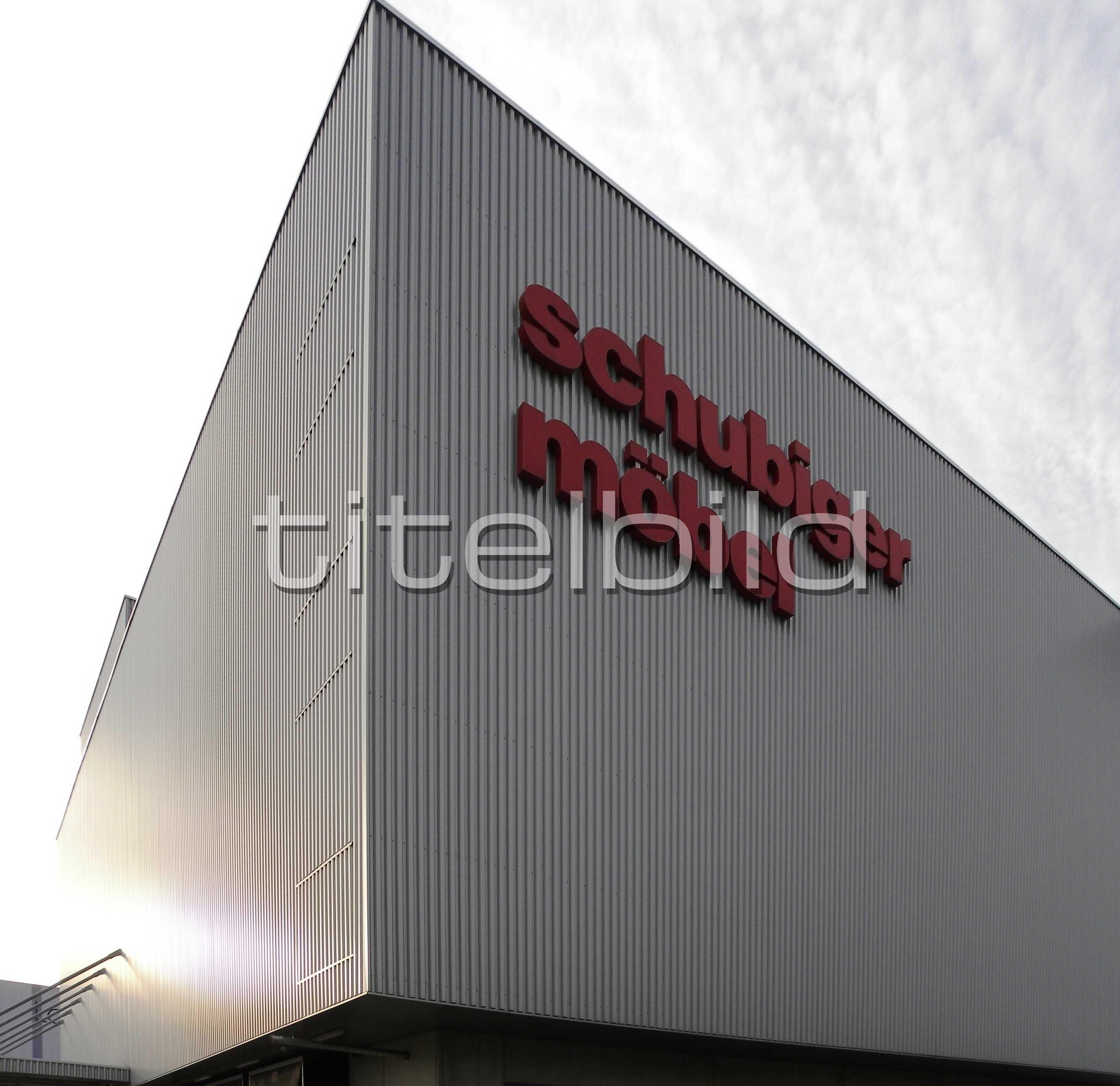 Objektbilder Schubiger Möbel Ag Logistikzentrum Regensdorf Regensdorf