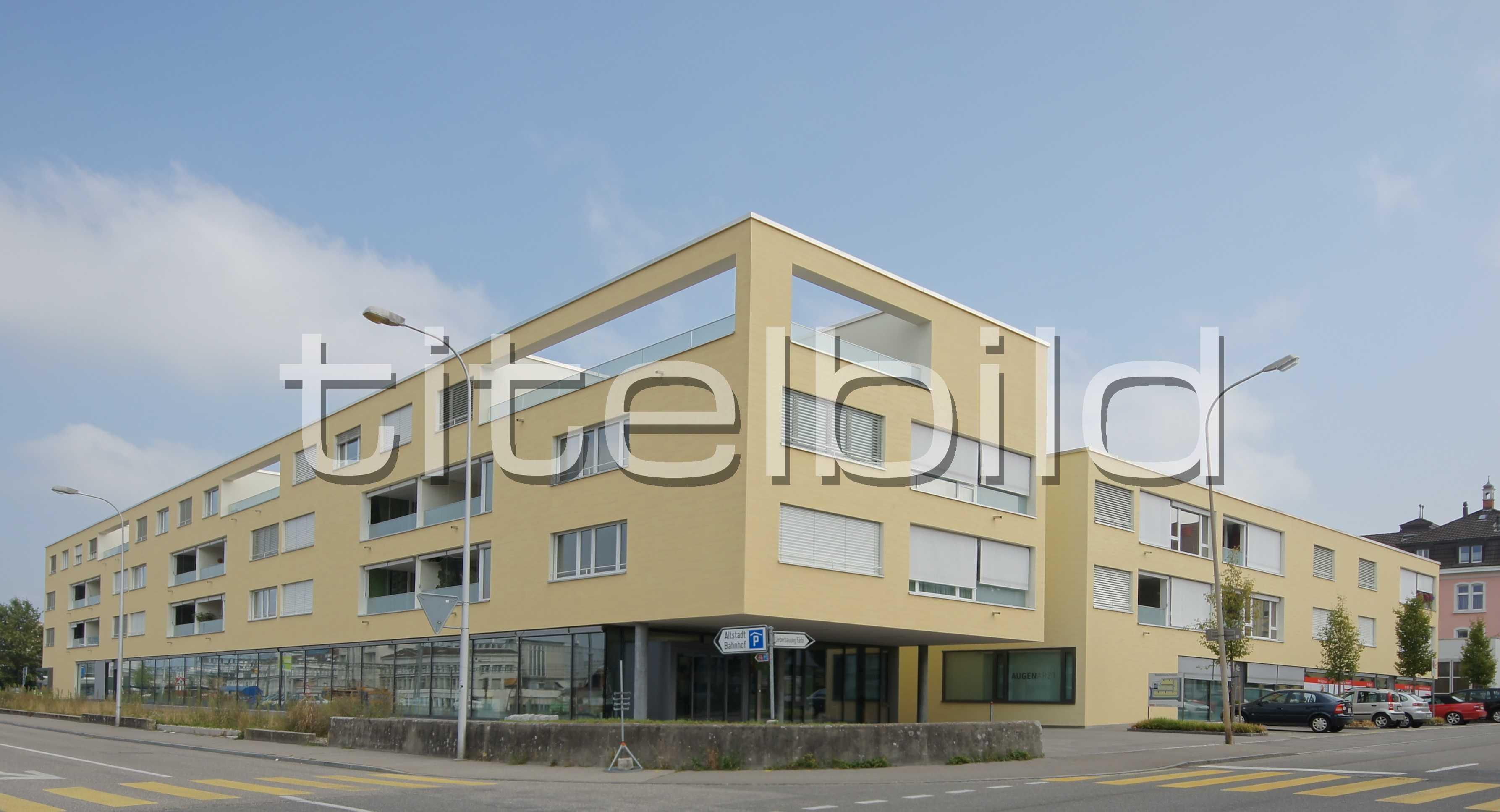 Projektbild-Nr. 1: Wohn- und Geschäftshaus Forstacker