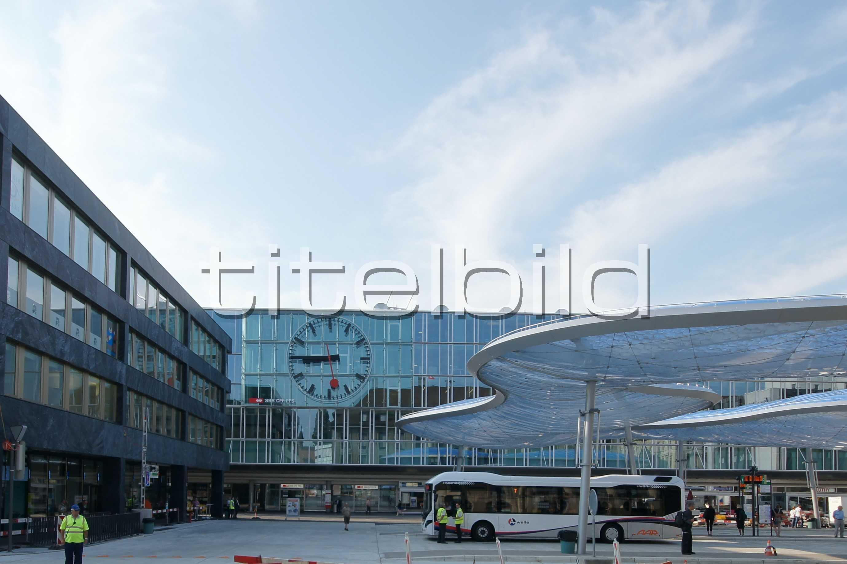 Projektbild-Nr. 1: Umbau Bahnhof Aarau