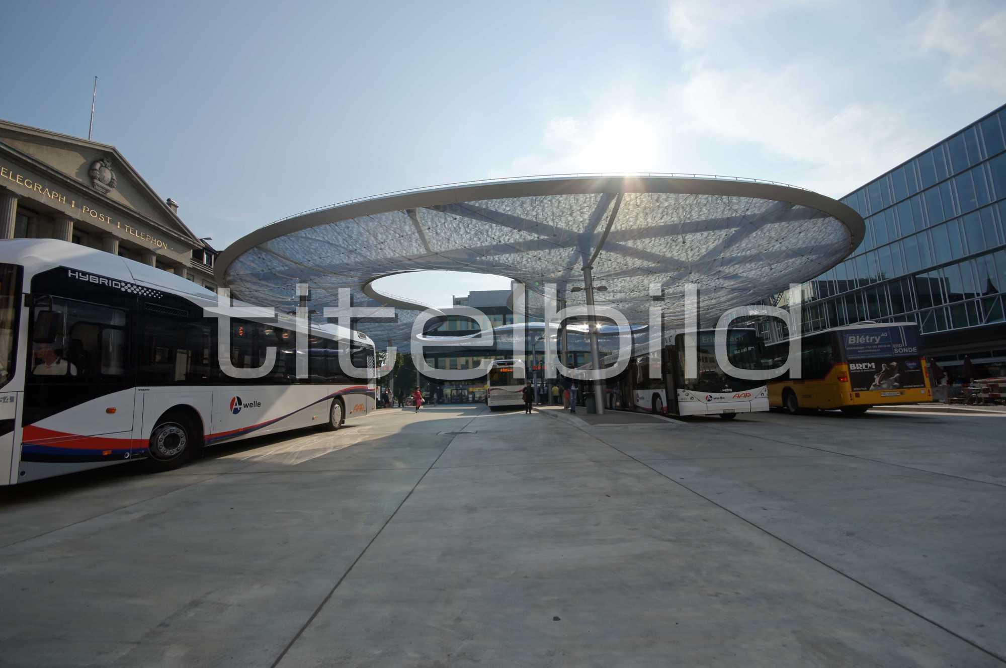Projektbild-Nr. 2: Umbau Bahnhof Aarau