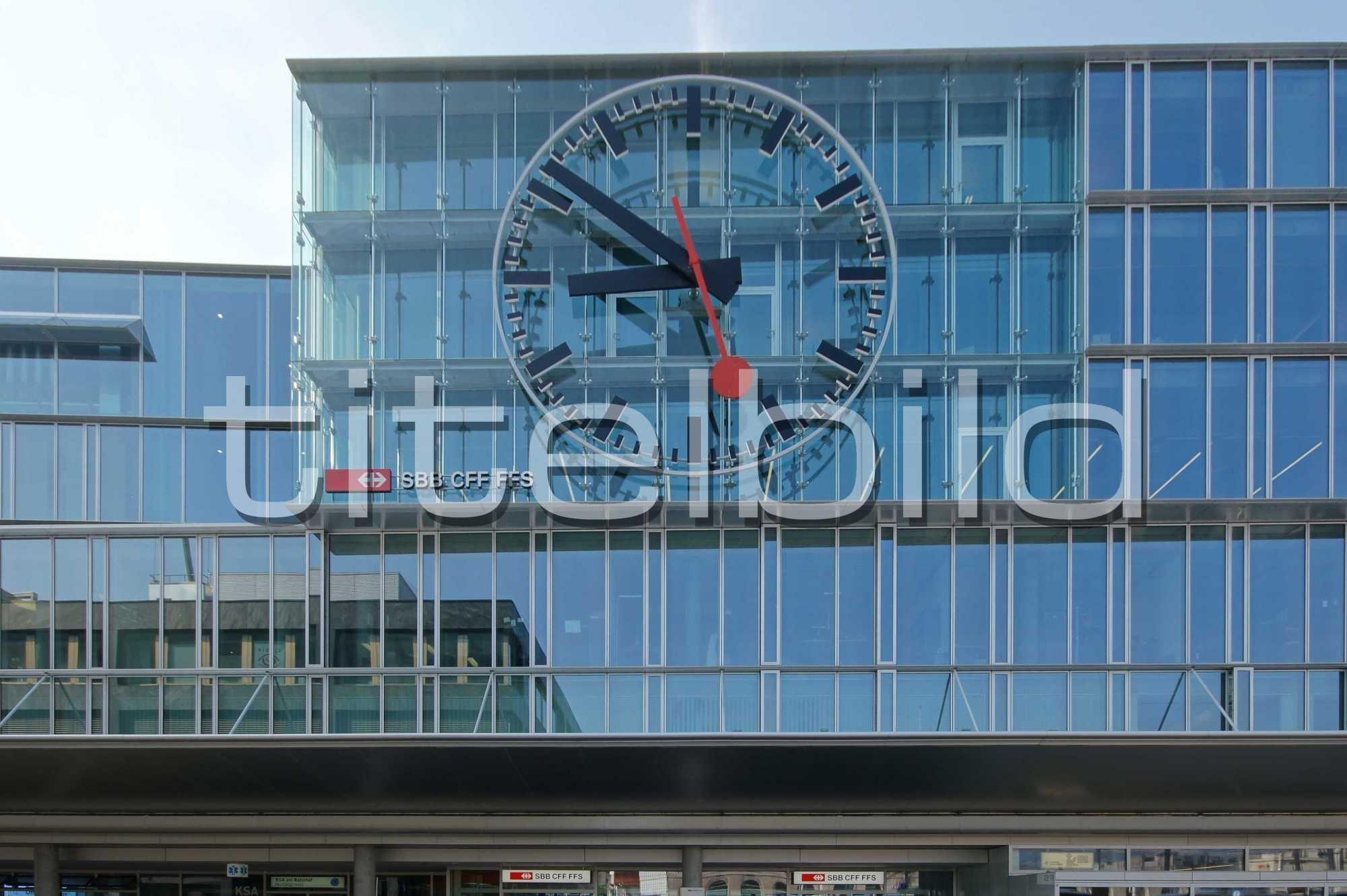 Projektbild-Nr. 3: Umbau Bahnhof Aarau