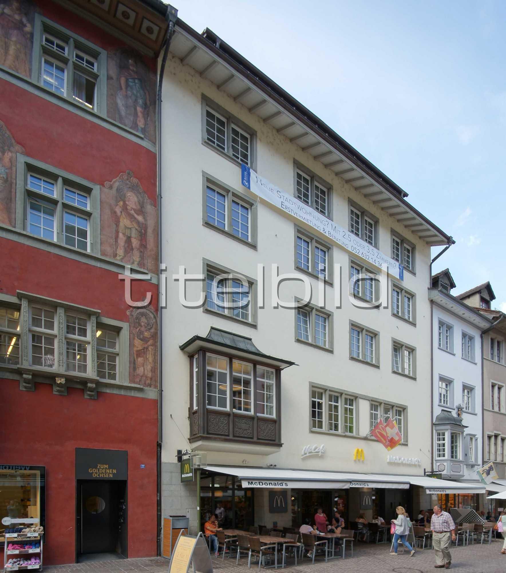 Bilder Von Gebäuden Aus Der Region: Schaffhausen
