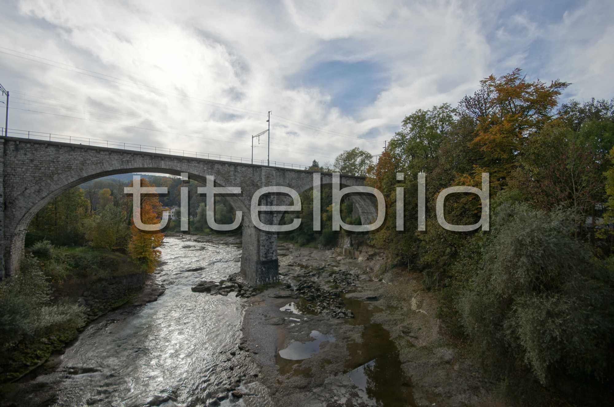 Projektbild-Nr. 1: Eisenbahnbrücke