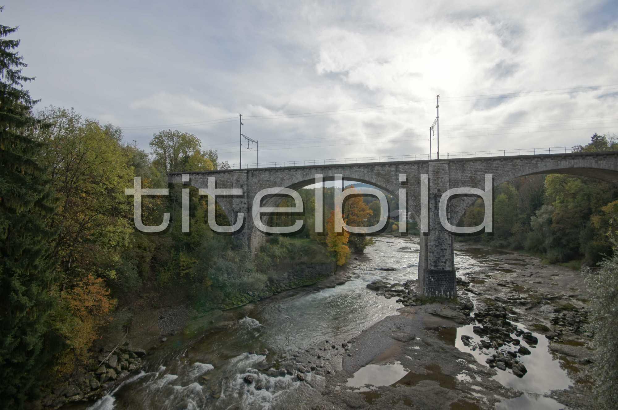Projektbild-Nr. 2: Eisenbahnbrücke