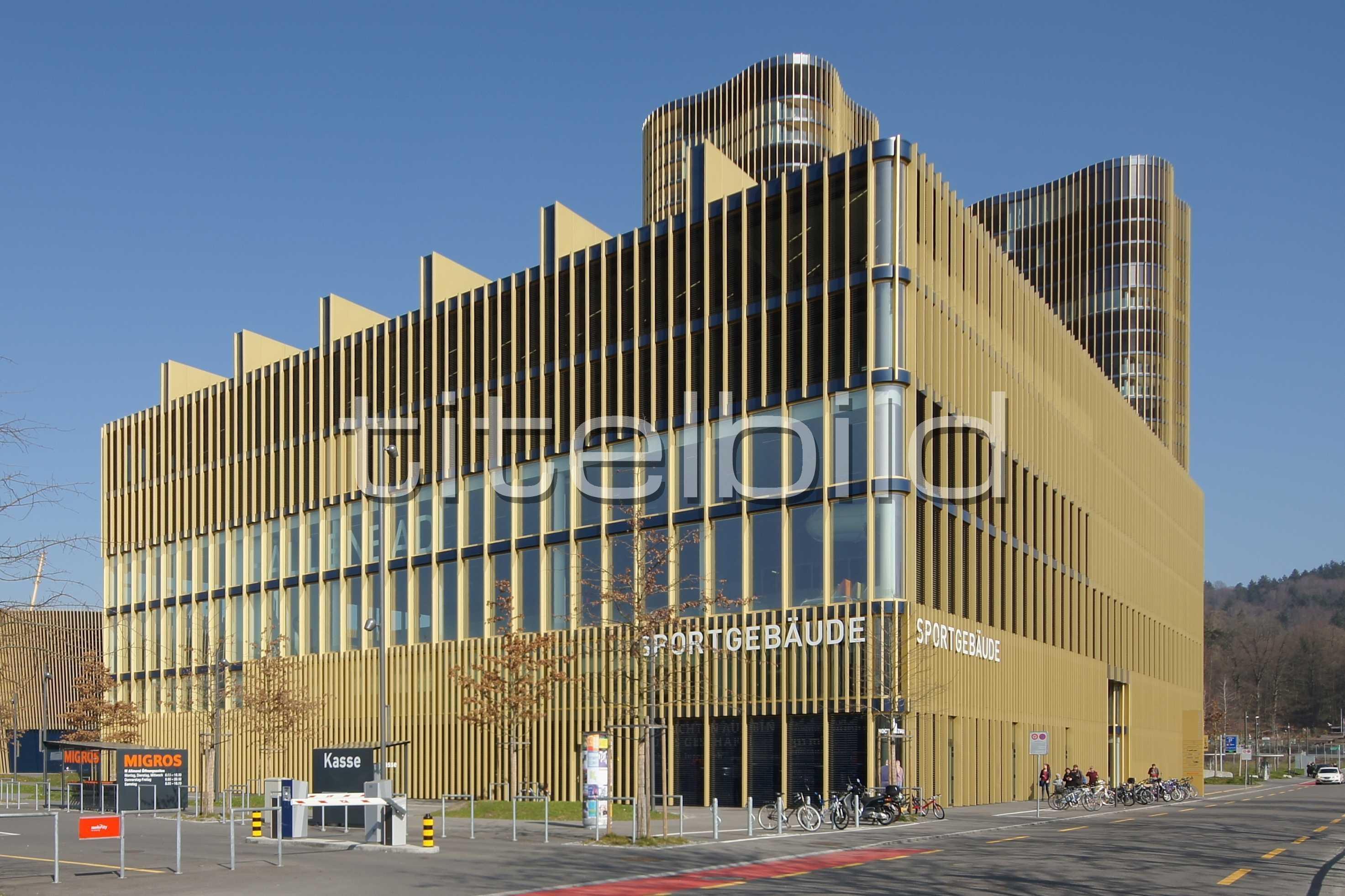 Projektbild-Nr. 0: Sportgebäude, Hallenbad Allmend
