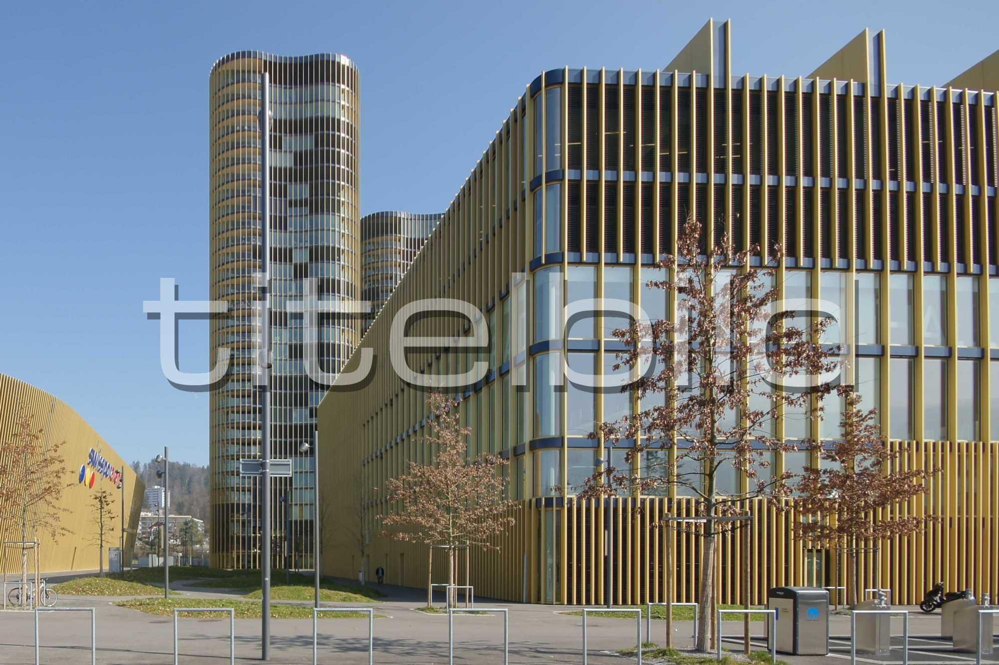Projektbild-Nr. 1: Sportgebäude, Hallenbad Allmend