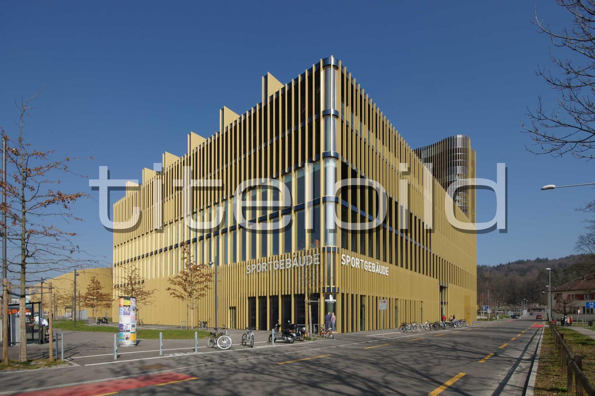 Projektbild-Nr. 2: Sportgebäude, Hallenbad Allmend