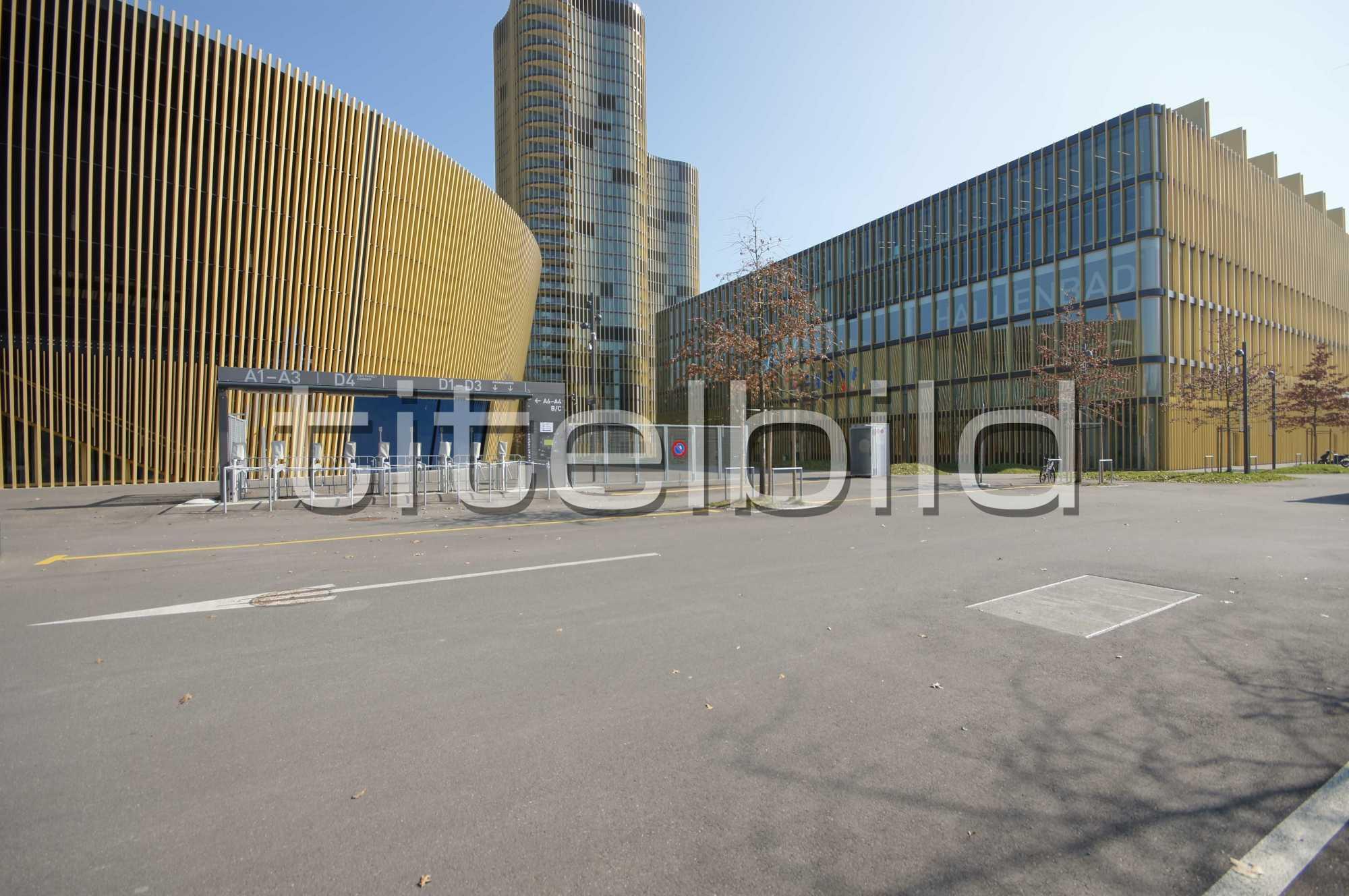 Projektbild-Nr. 3: Sportgebäude, Hallenbad Allmend