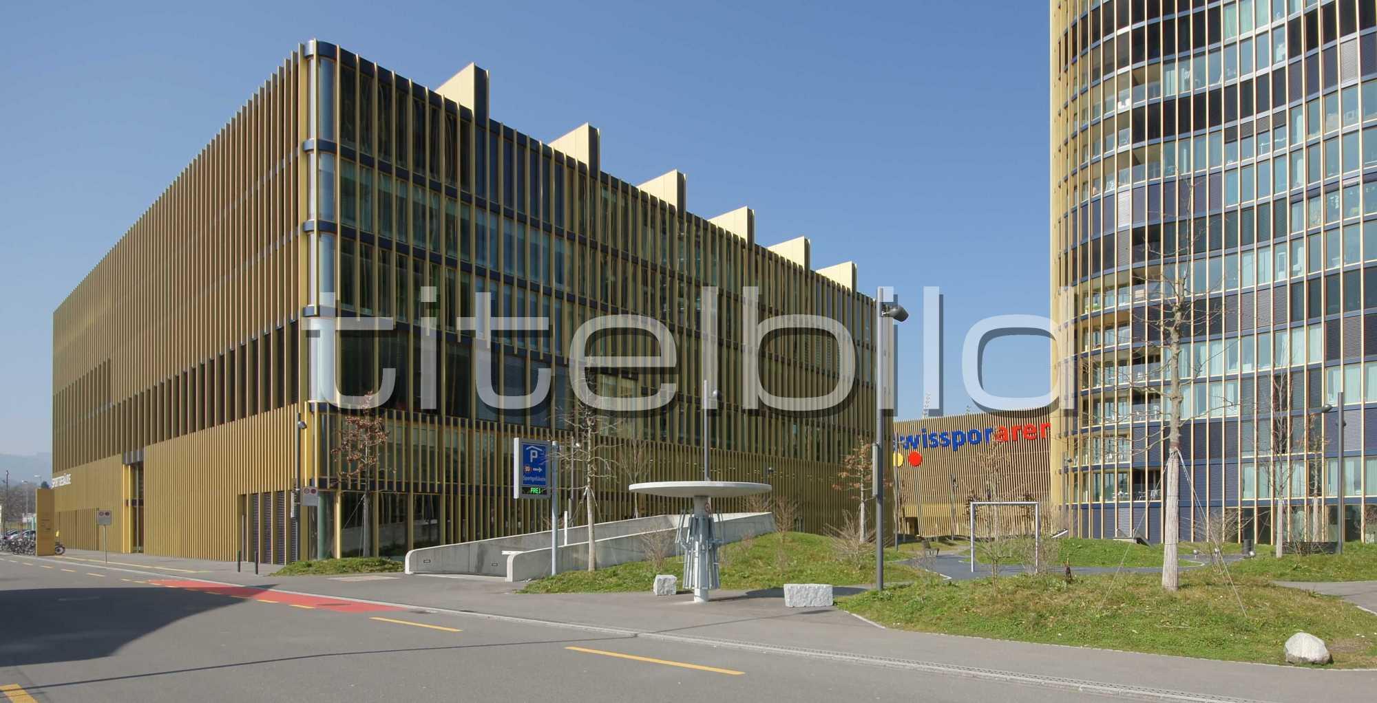 Projektbild-Nr. 4: Sportgebäude, Hallenbad Allmend