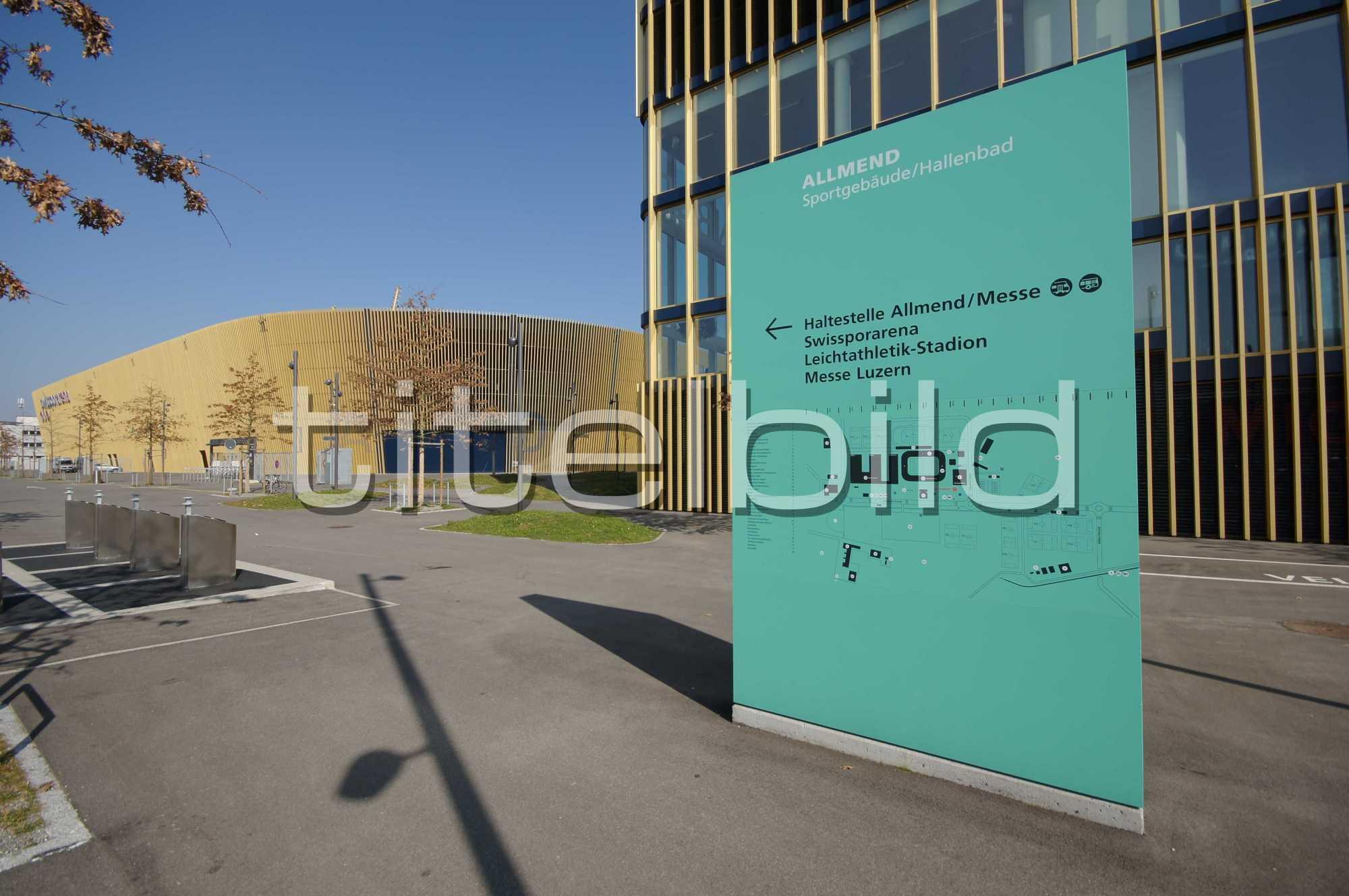 Projektbild-Nr. 5: Sportgebäude, Hallenbad Allmend