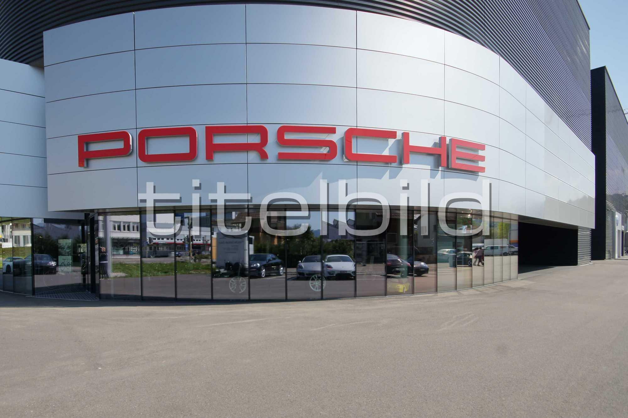Projektbild-Nr. 0: Porsche Zentrum und VW Center - AMAG RETAIL Schlieren