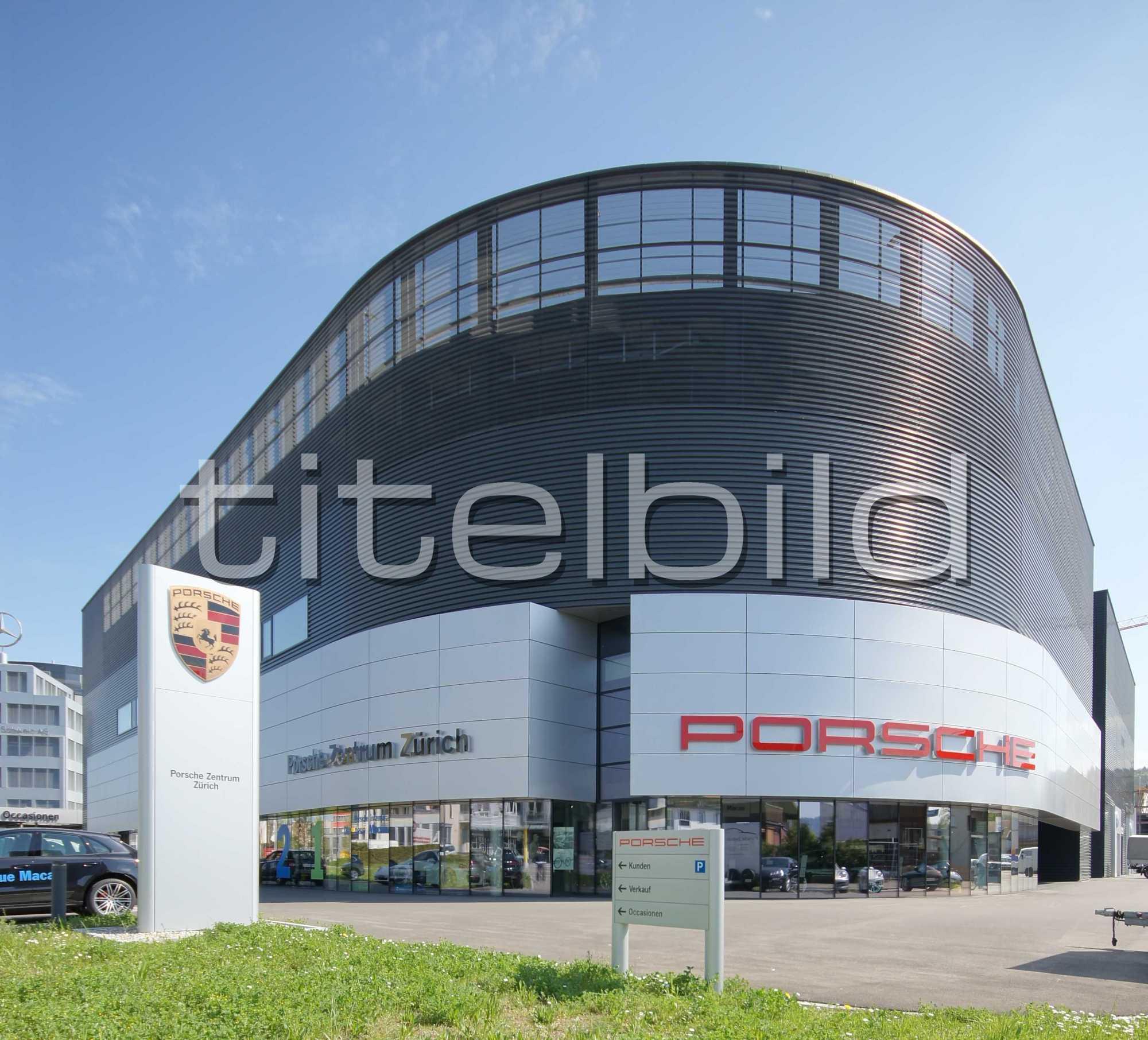 Projektbild-Nr. 1: Porsche Zentrum und VW Center - AMAG RETAIL Schlieren