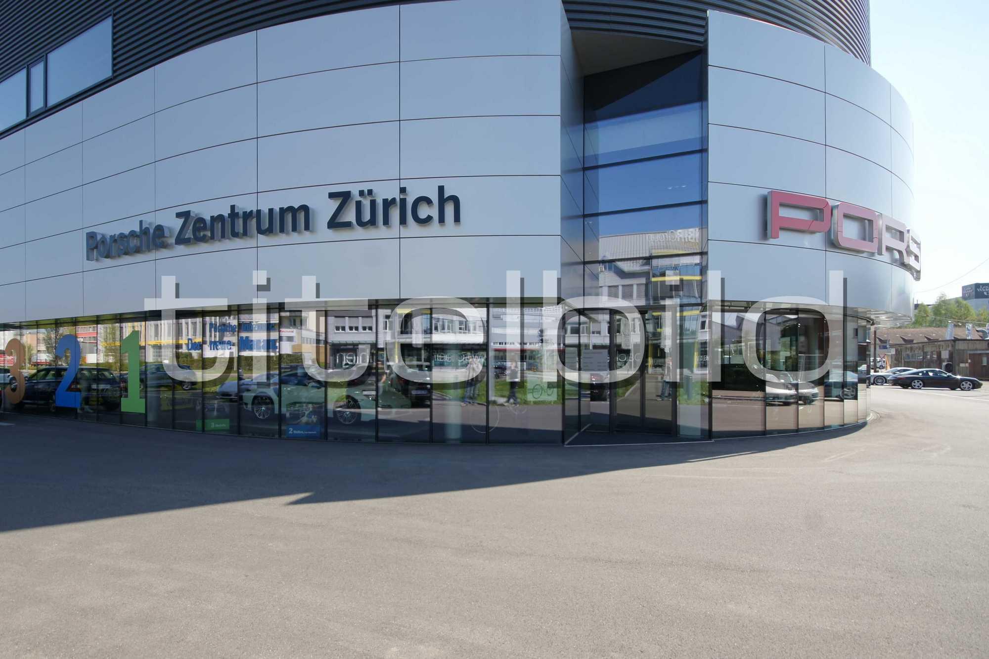 Projektbild-Nr. 2: Porsche Zentrum und VW Center - AMAG RETAIL Schlieren