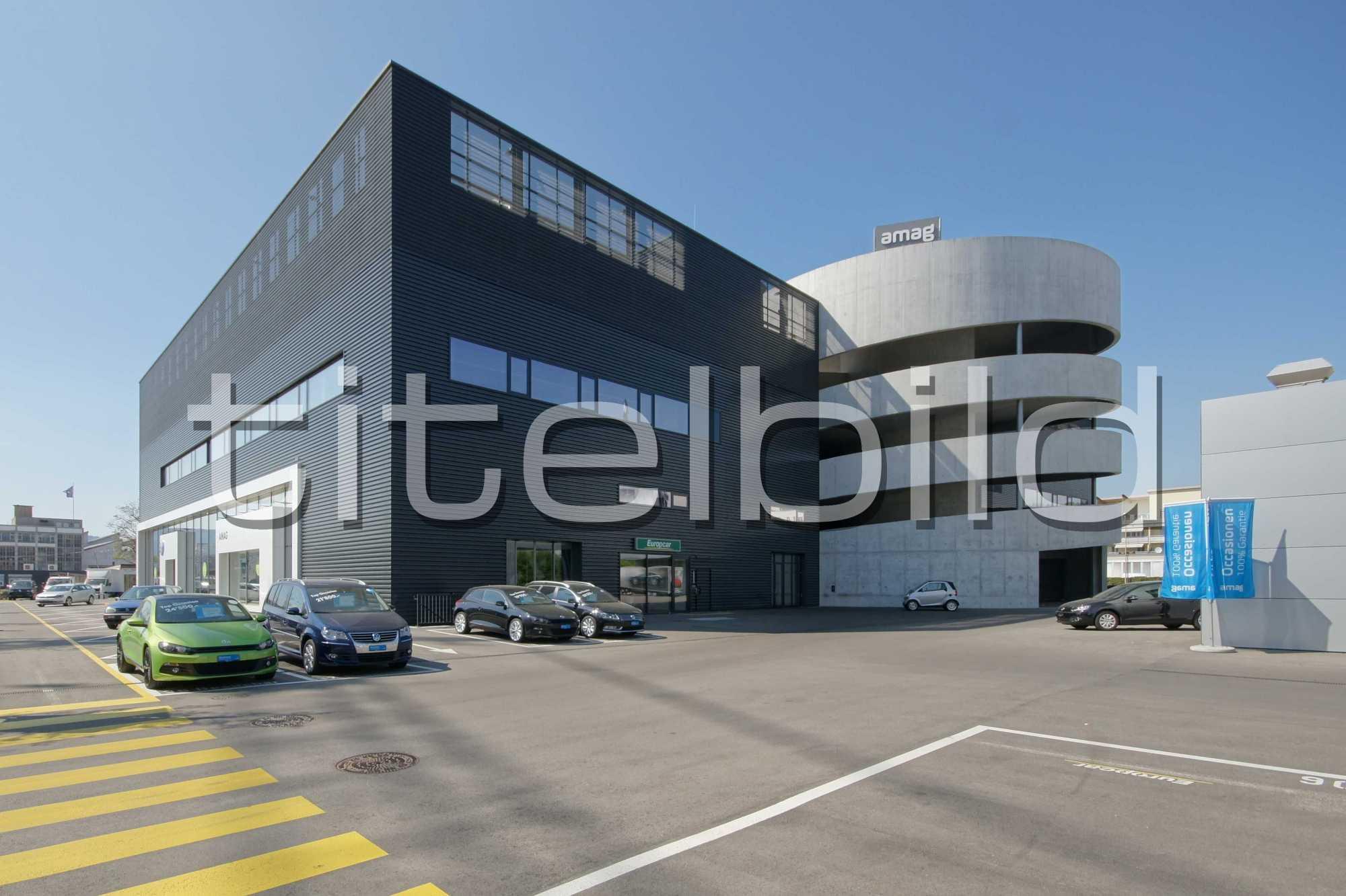 Projektbild-Nr. 5: Porsche Zentrum und VW Center - AMAG RETAIL Schlieren
