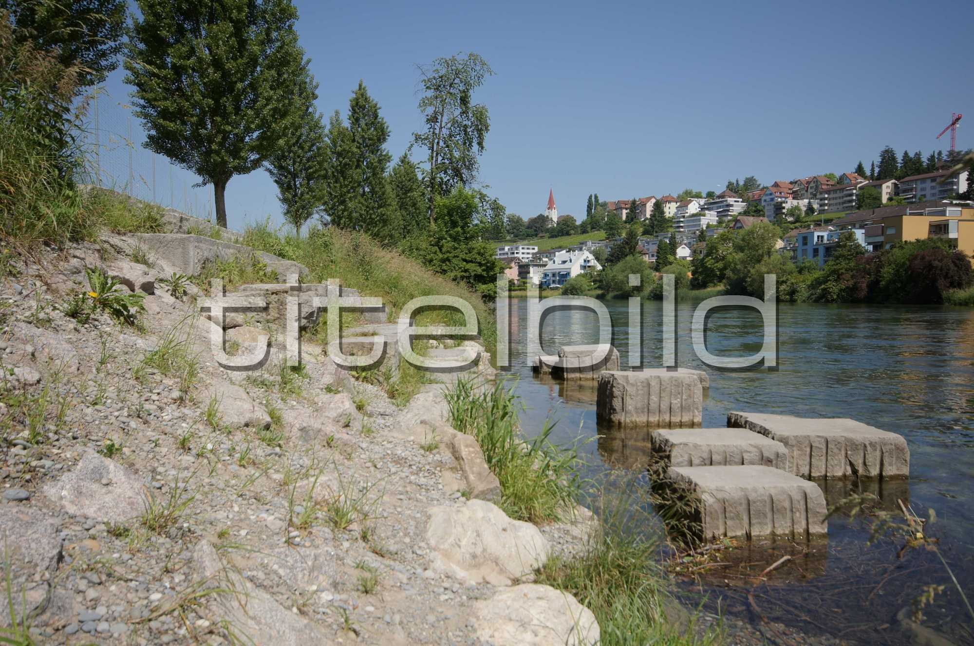 Projektbild-Nr. 0: Fischerweg, Abschnitt Hardturmstrasse 214 bis Hönggerwehr,