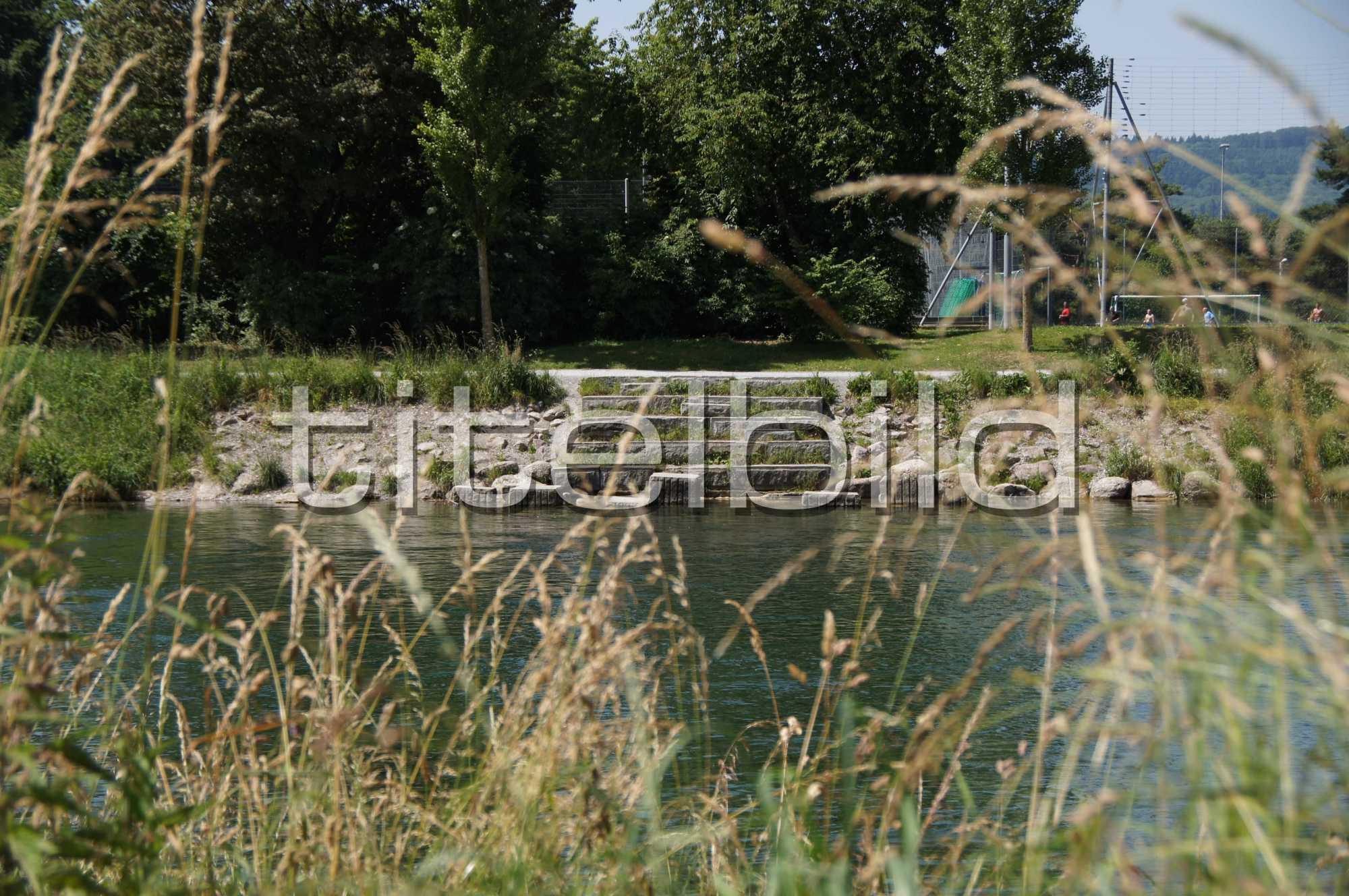 Projektbild-Nr. 5: Fischerweg, Abschnitt Hardturmstrasse 214 bis Hönggerwehr,