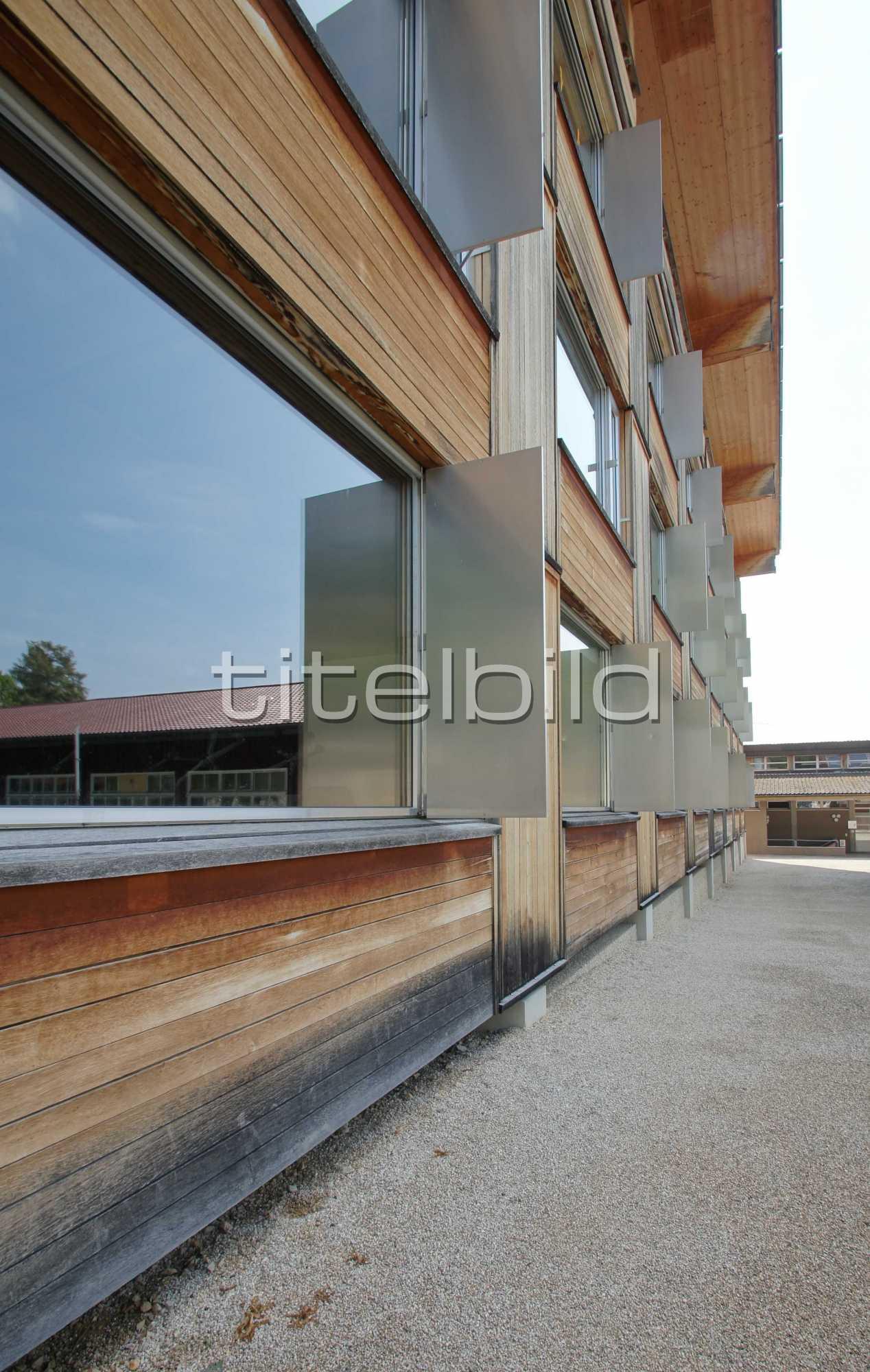 Projektbild-Nr. 2: Berner Fachhochschule Architektur, Holz und Bau