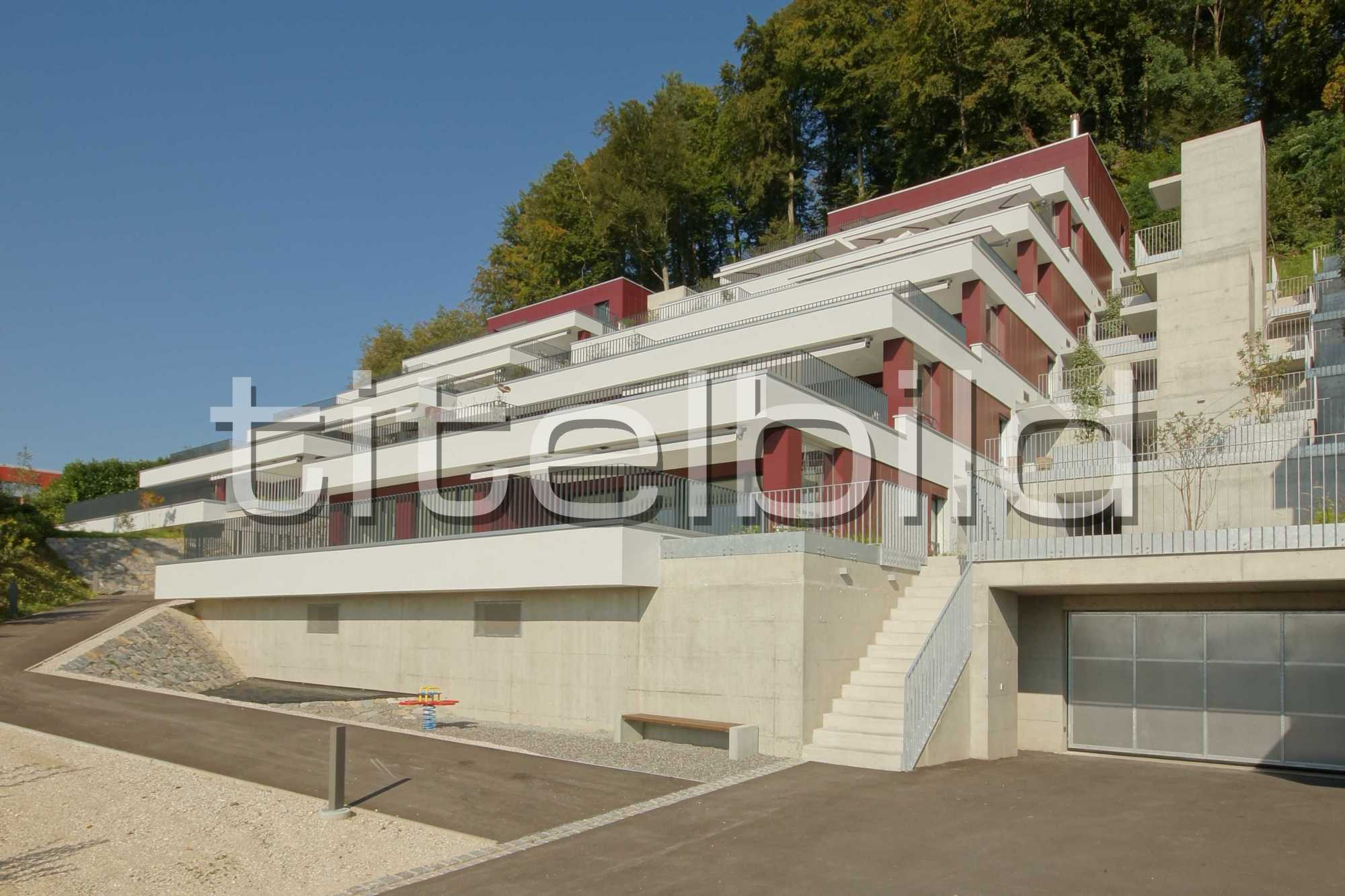 Projektbild-Nr. 1: Terrassenhäuser Rebhügel