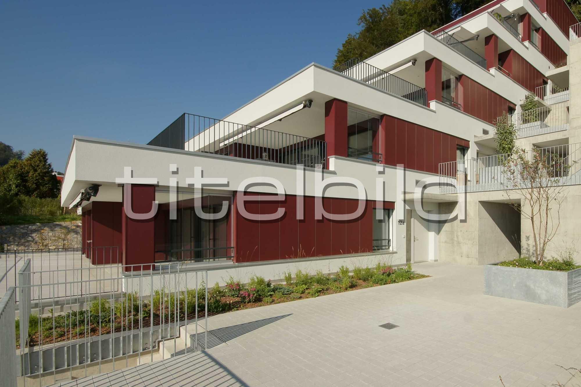Projektbild-Nr. 3: Terrassenhäuser Rebhügel