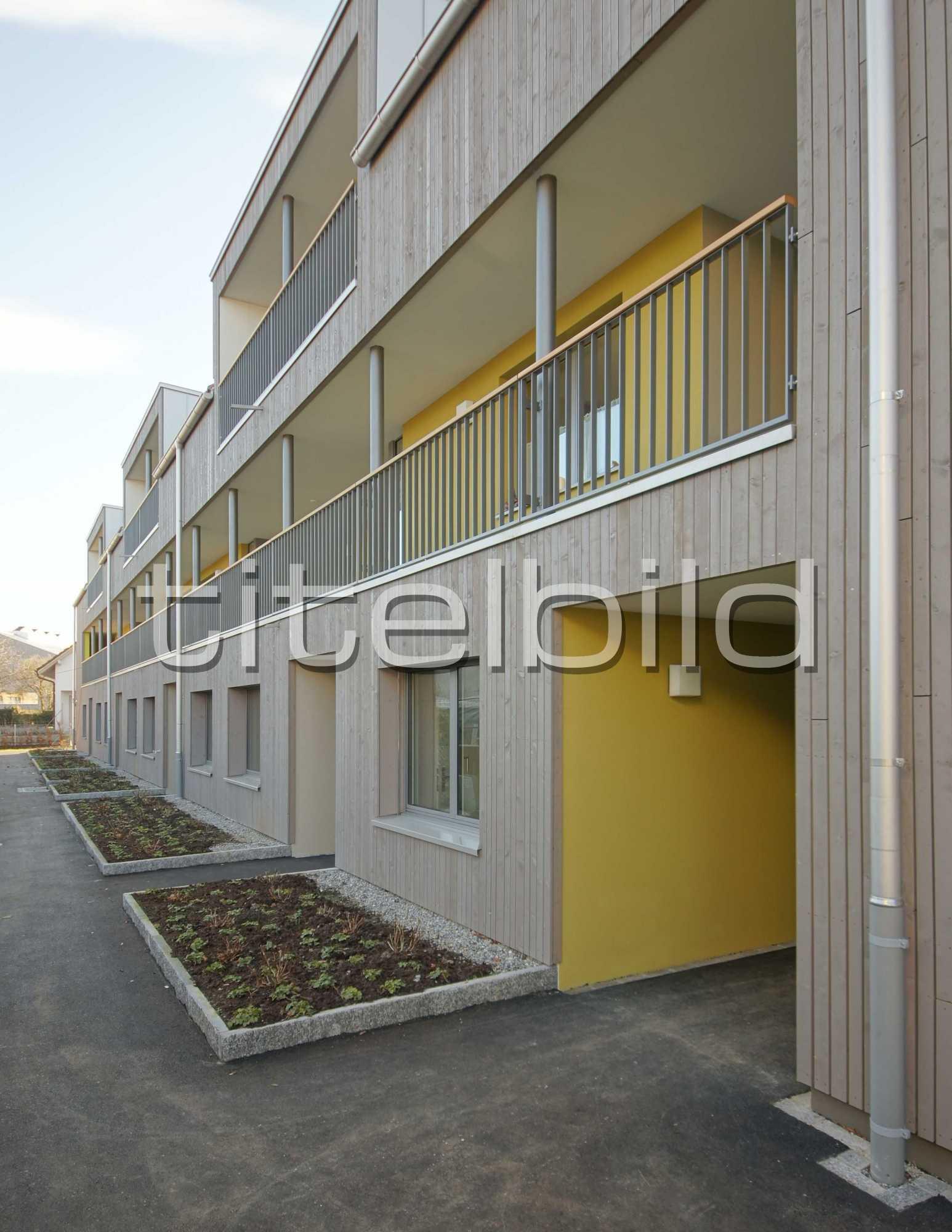 Projektbild-Nr. 7: Mehrfamilienhaus Kastanienbaum