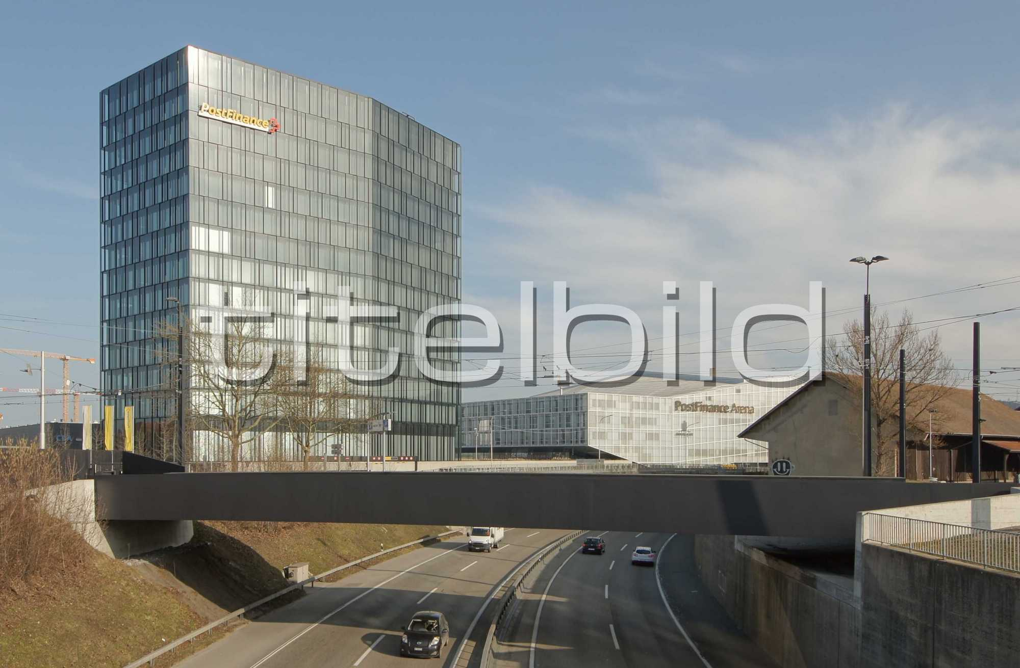 Projektbild-Nr. 0: PostFinance-Hauptsitz