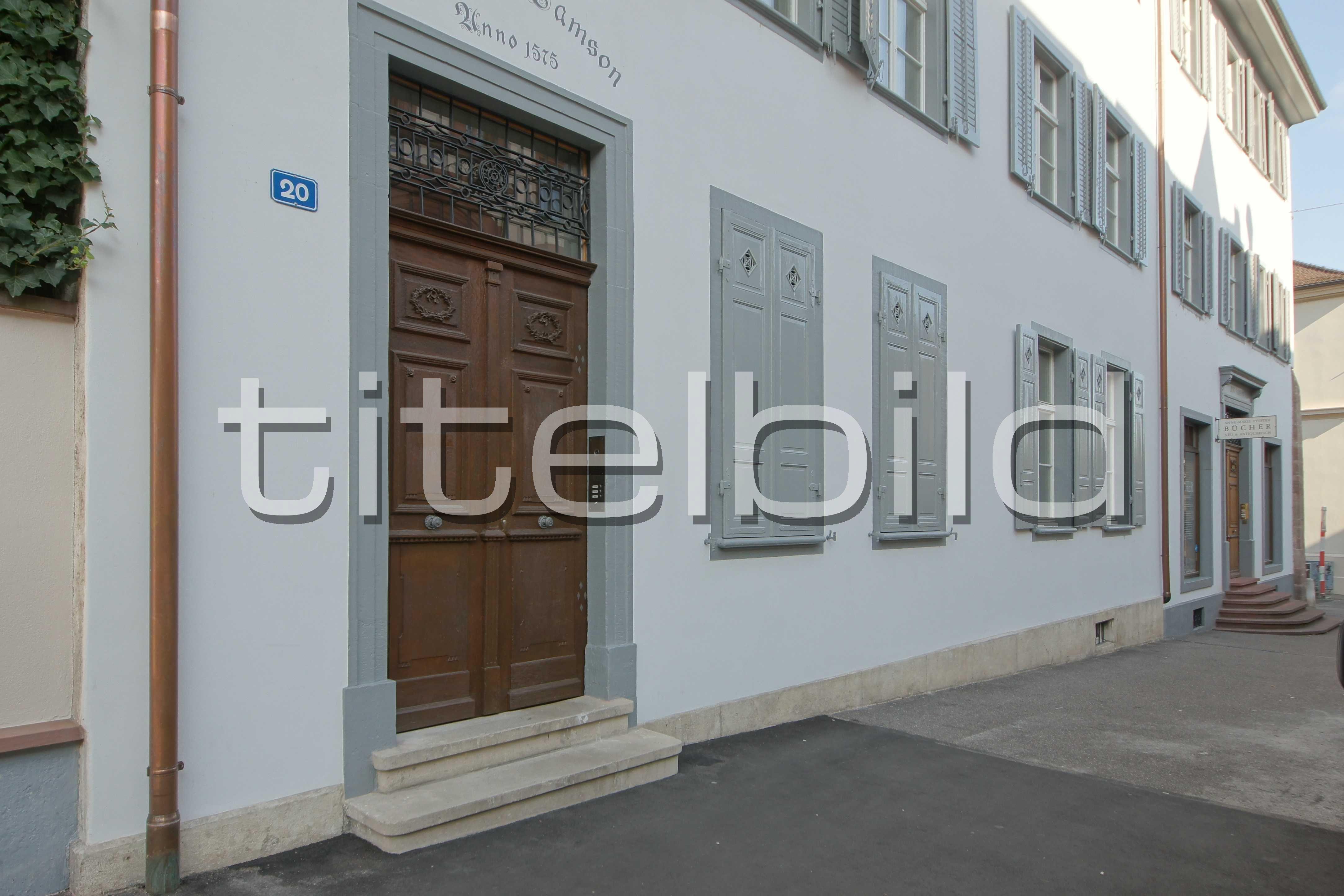Objektbilder: Haus zum oberen Samson, Basel