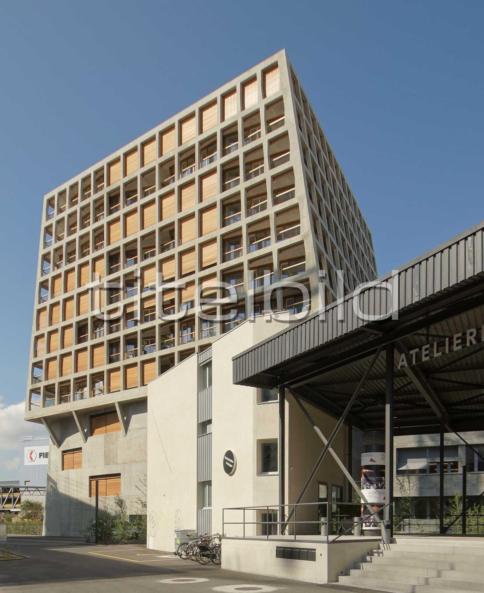 Projektbild-Nr. 4: Areal Dreispitz, Büro- und Wohnhaus Helsinkistrasse, Münchenstein