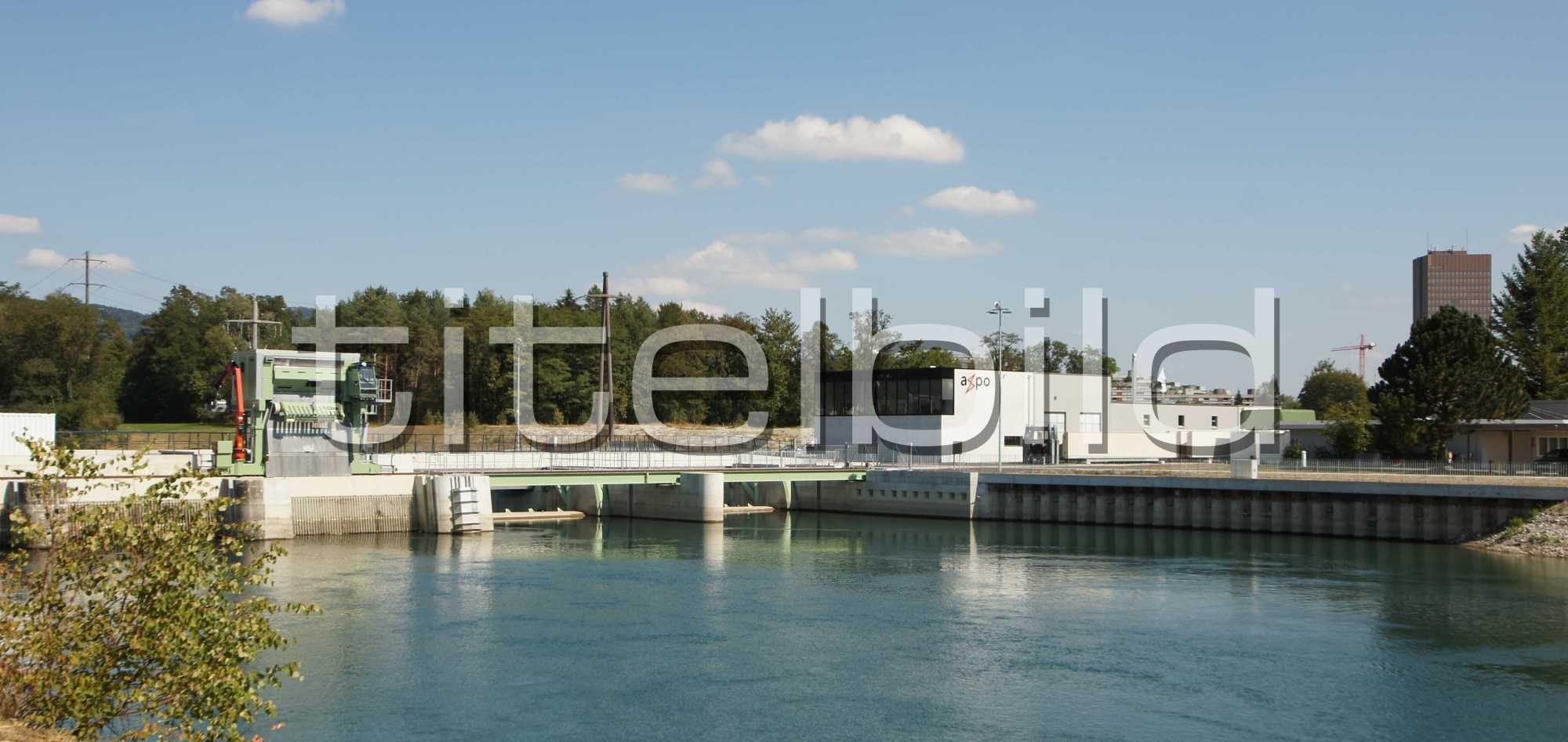 Projektbild-Nr. 0: Konzessionsprojekt Kraftwerk Rüchlig