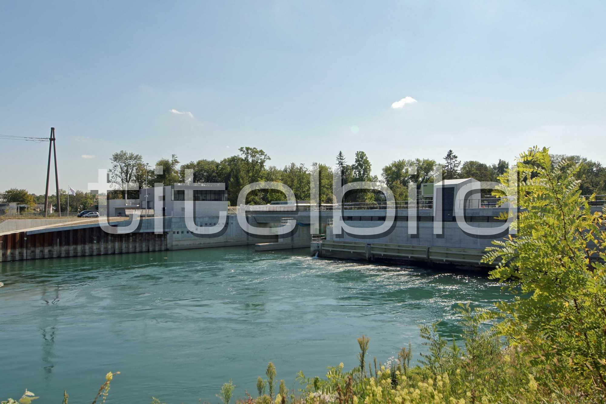 Projektbild-Nr. 2: Konzessionsprojekt Kraftwerk Rüchlig