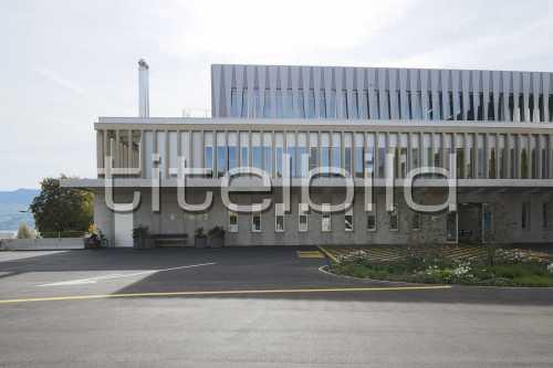 Bild-Nr: 3des Objektes Neubau Behandlungstrakt Spital Männedorf