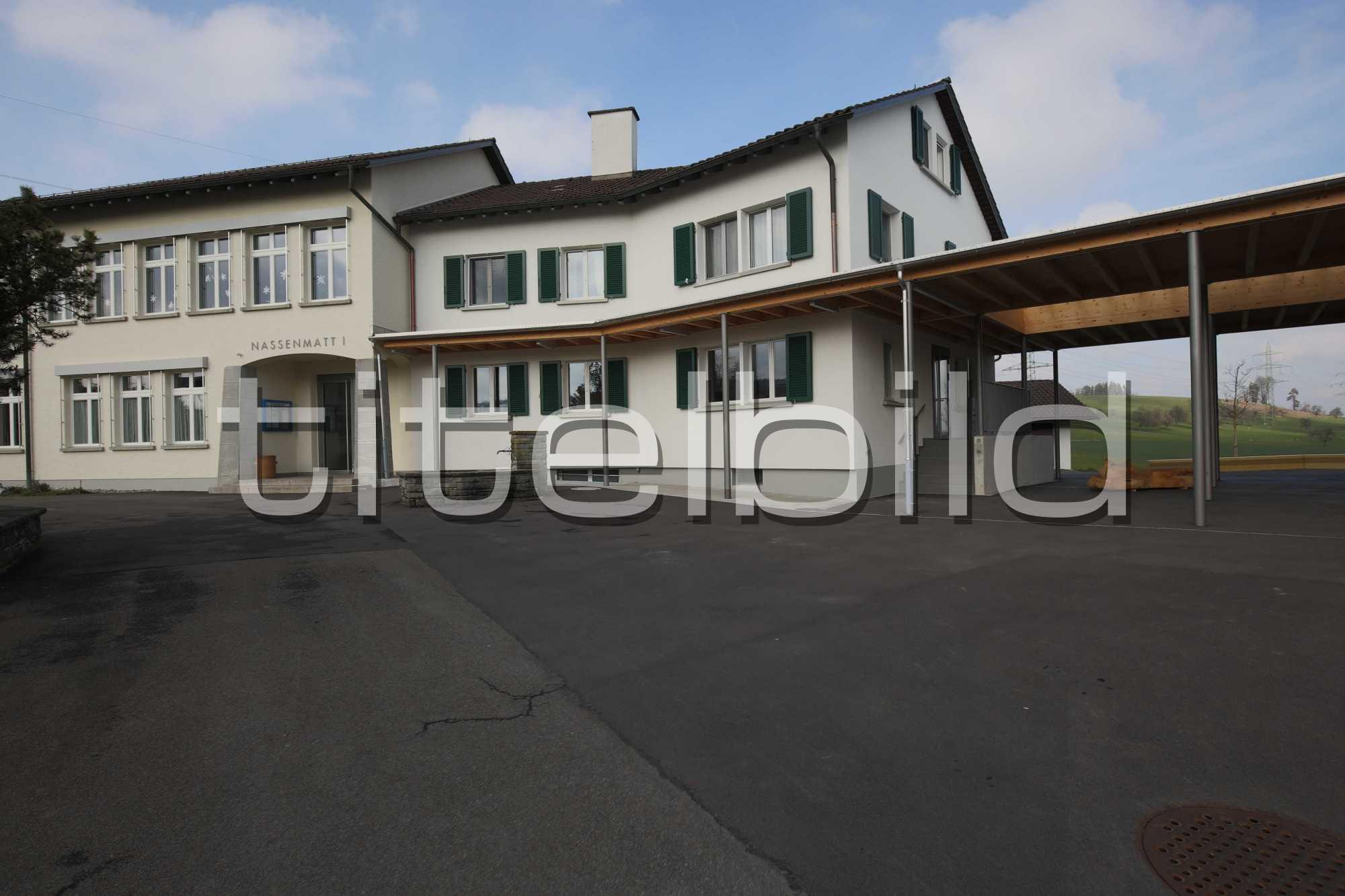 Projektbild-Nr. 1: Neubau + Umbau Schulhaus Nassenmatt