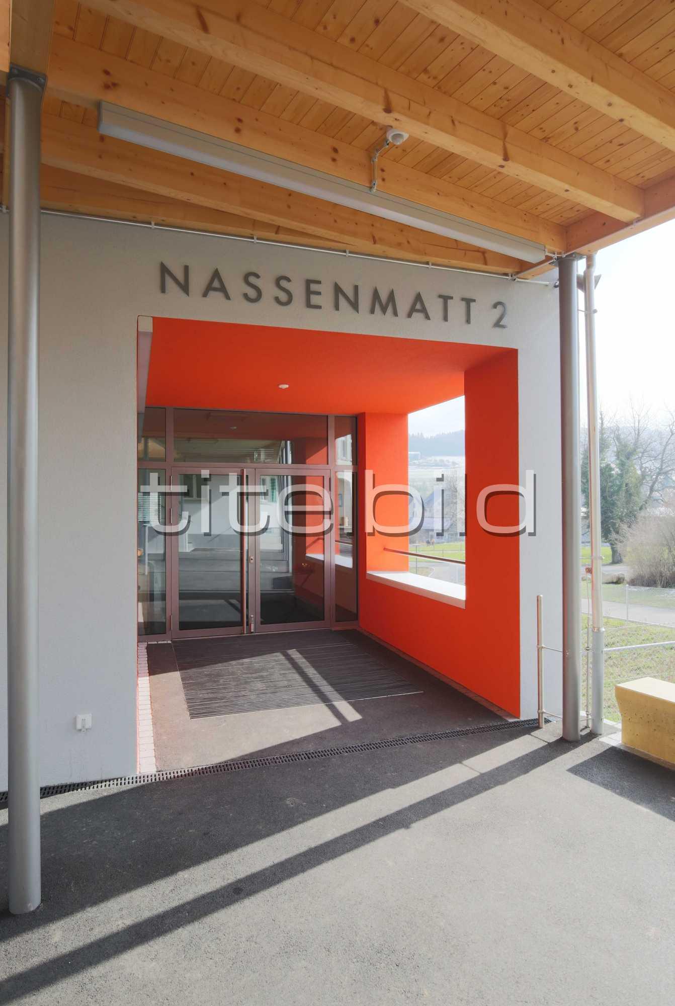 Projektbild-Nr. 4: Neubau + Umbau Schulhaus Nassenmatt