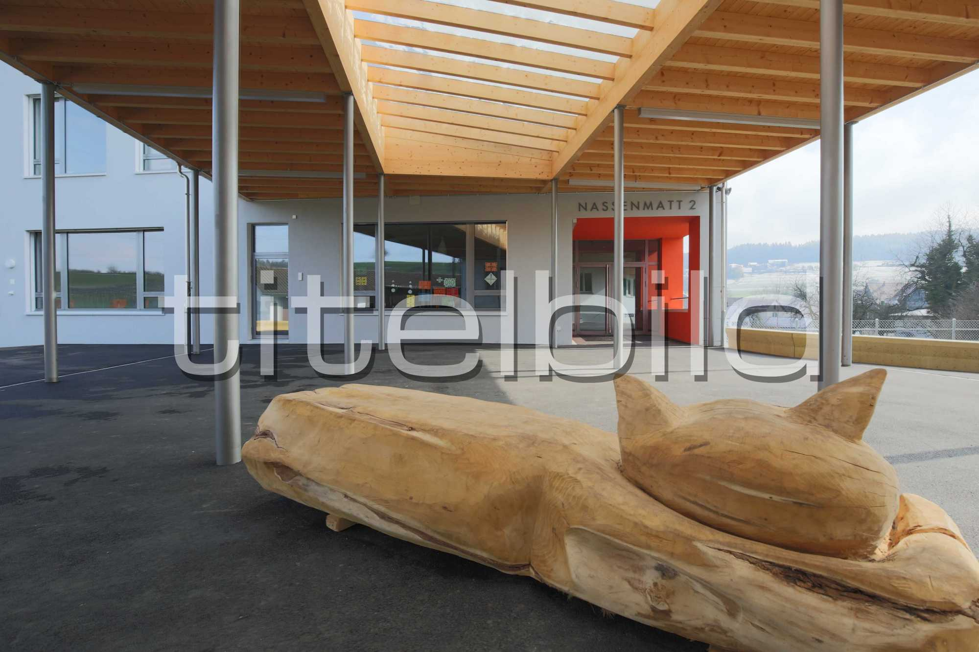 Projektbild-Nr. 6: Neubau + Umbau Schulhaus Nassenmatt