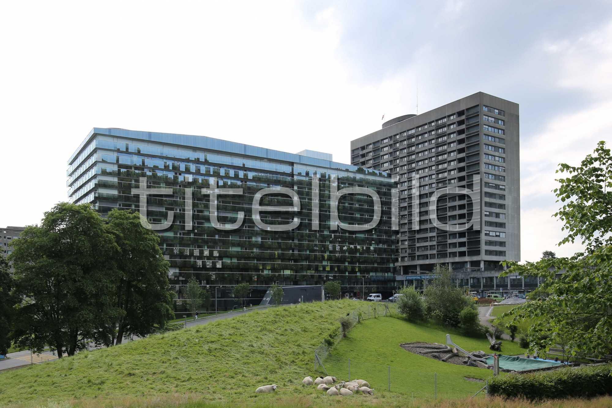 Projektbild-Nr. 1: Bettenhaus Triemli-Spital
