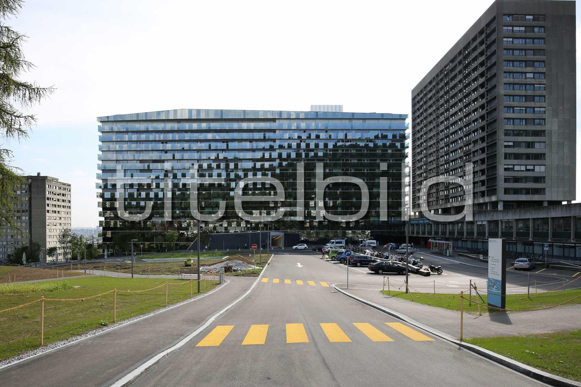Projektbild-Nr. 2: Bettenhaus Triemli-Spital