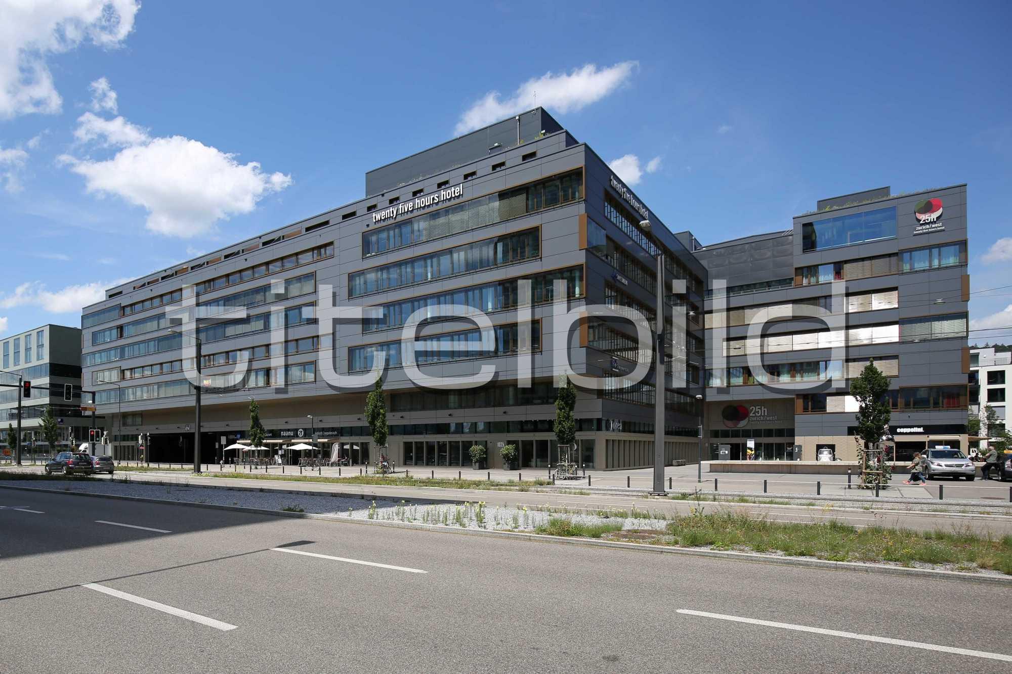 Projektbild-Nr. 0: HardturmPark Baufeld B 25hours Hotel