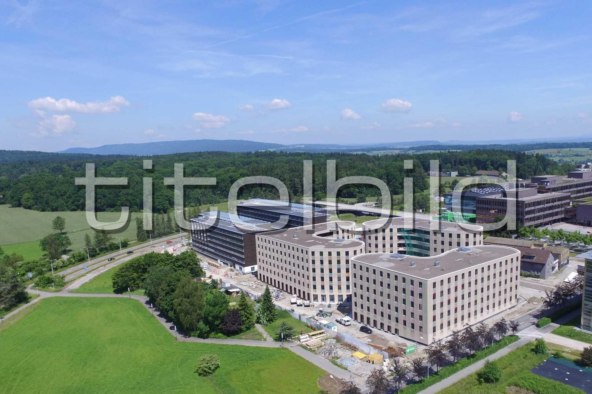 Projektbild-Nr. 0: HWO Science City, Zürich Höngg